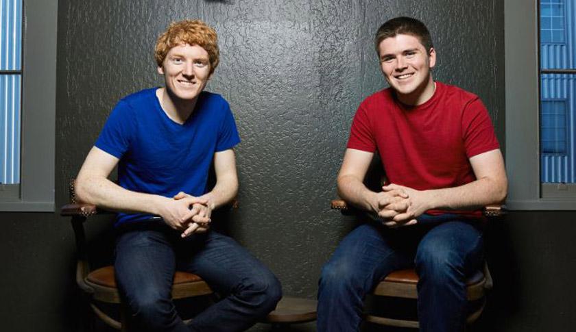 UNICORN 2015 — Patrick and John Collison Stripe
