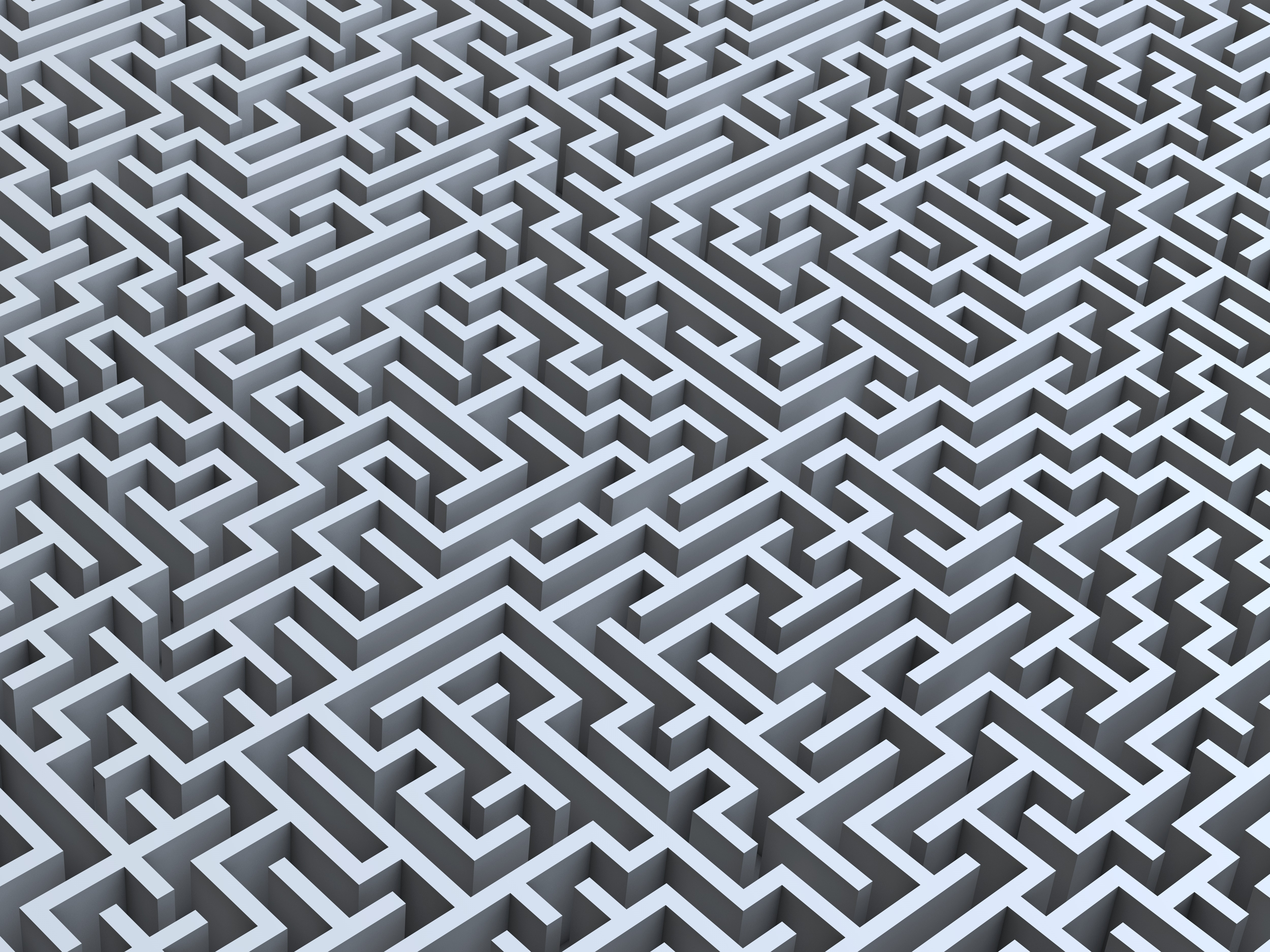 Maze, labyrinth, artwork