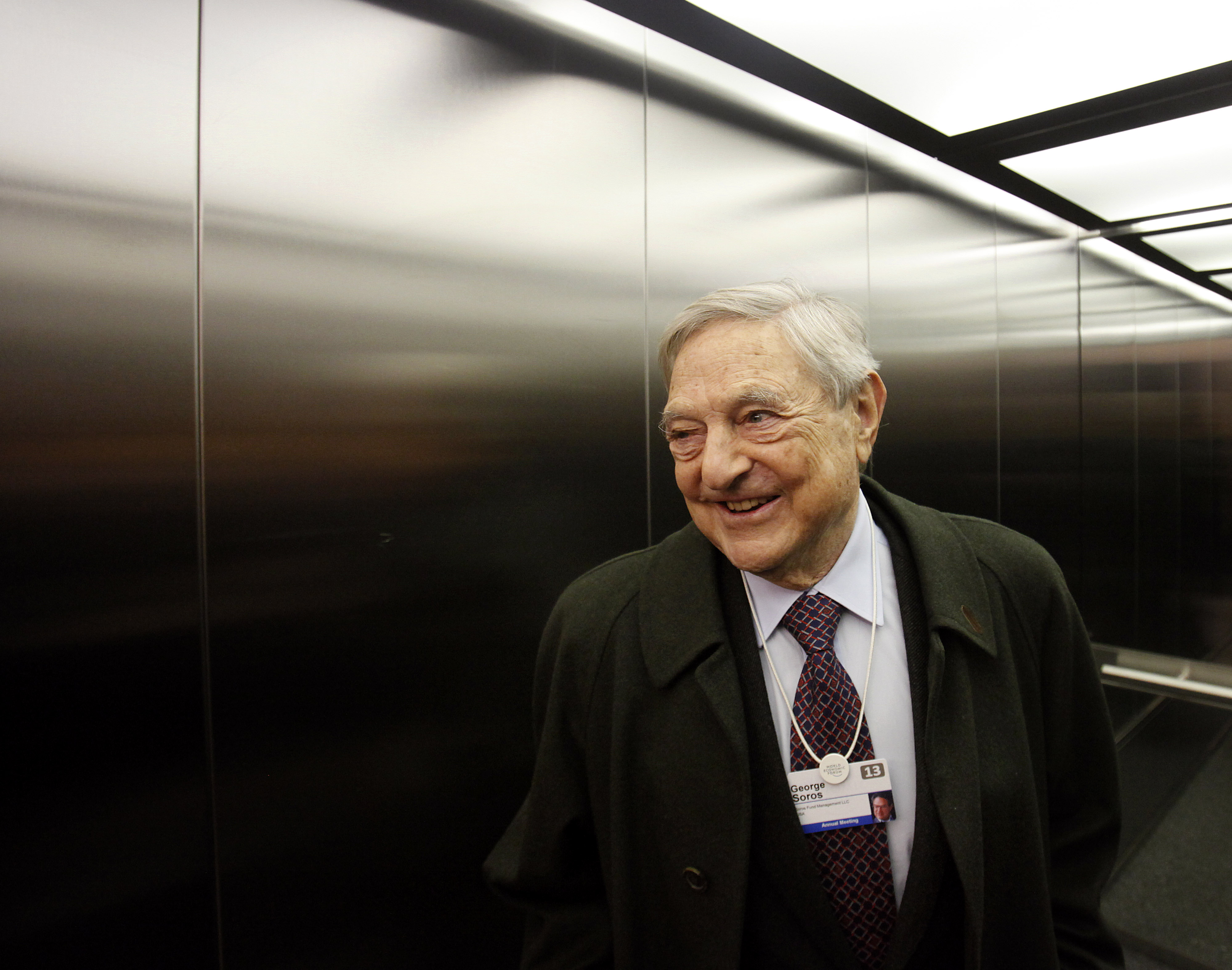 George Soros, the billionaire investor and founder of Soros Fund Management LLC.