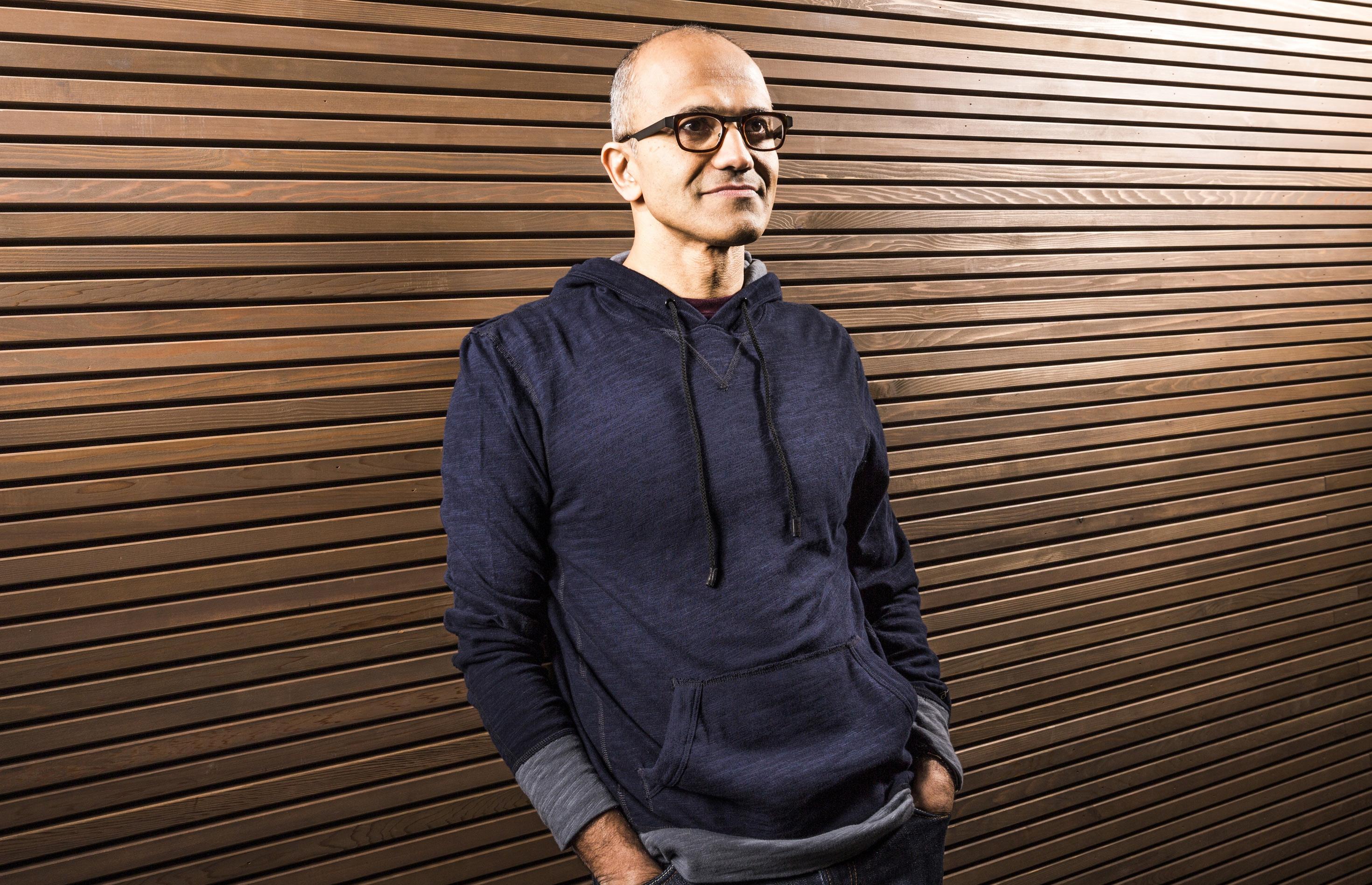 Satya Nadella Named CEO of Microsoft
