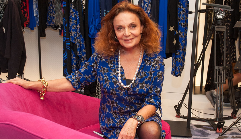 """Diane von Furstenberg Signs Copies of Her New Book, """"The Woman I Wanted To Be"""""""