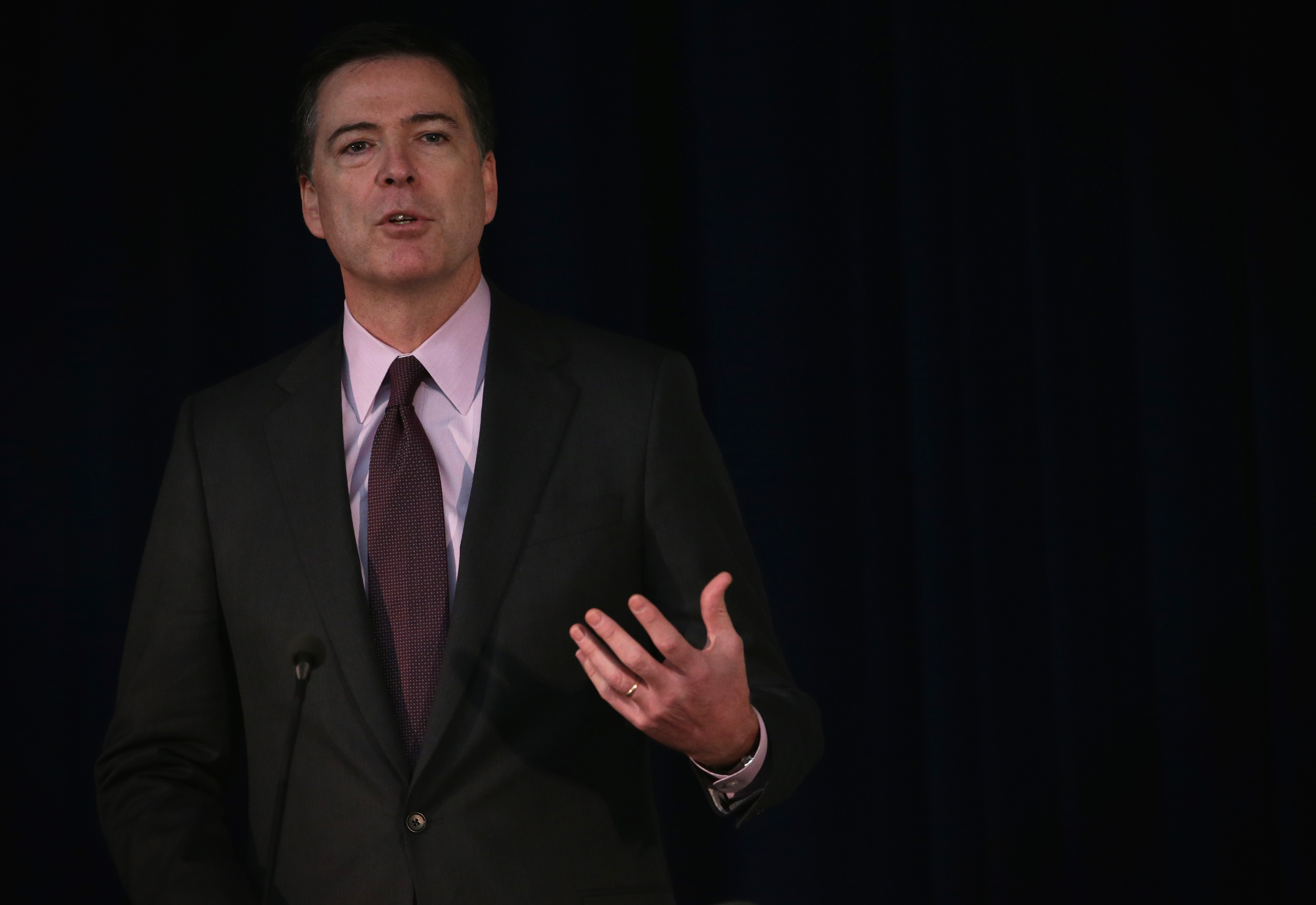 Johnson,Comey Address Overseas Security Advisory Council's Annual Briefing