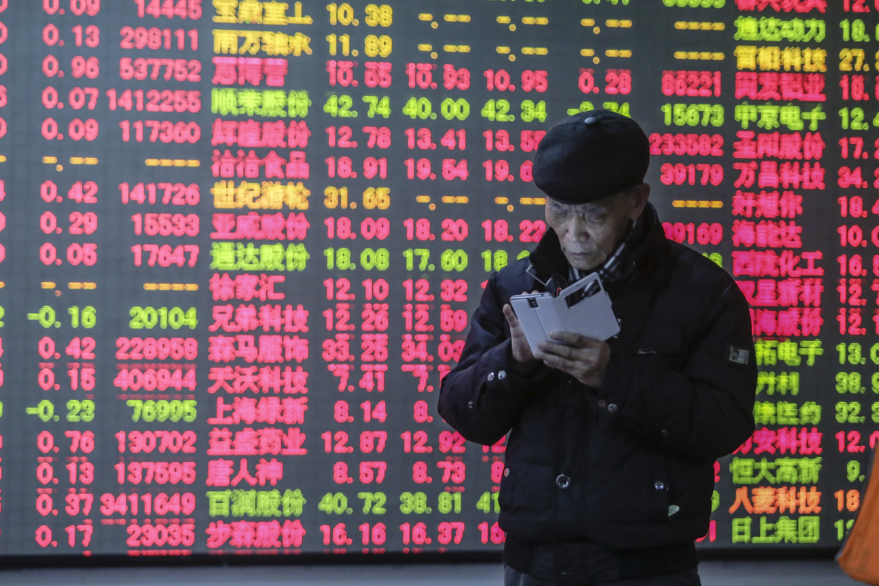 China's Stock Runs High In A New Year