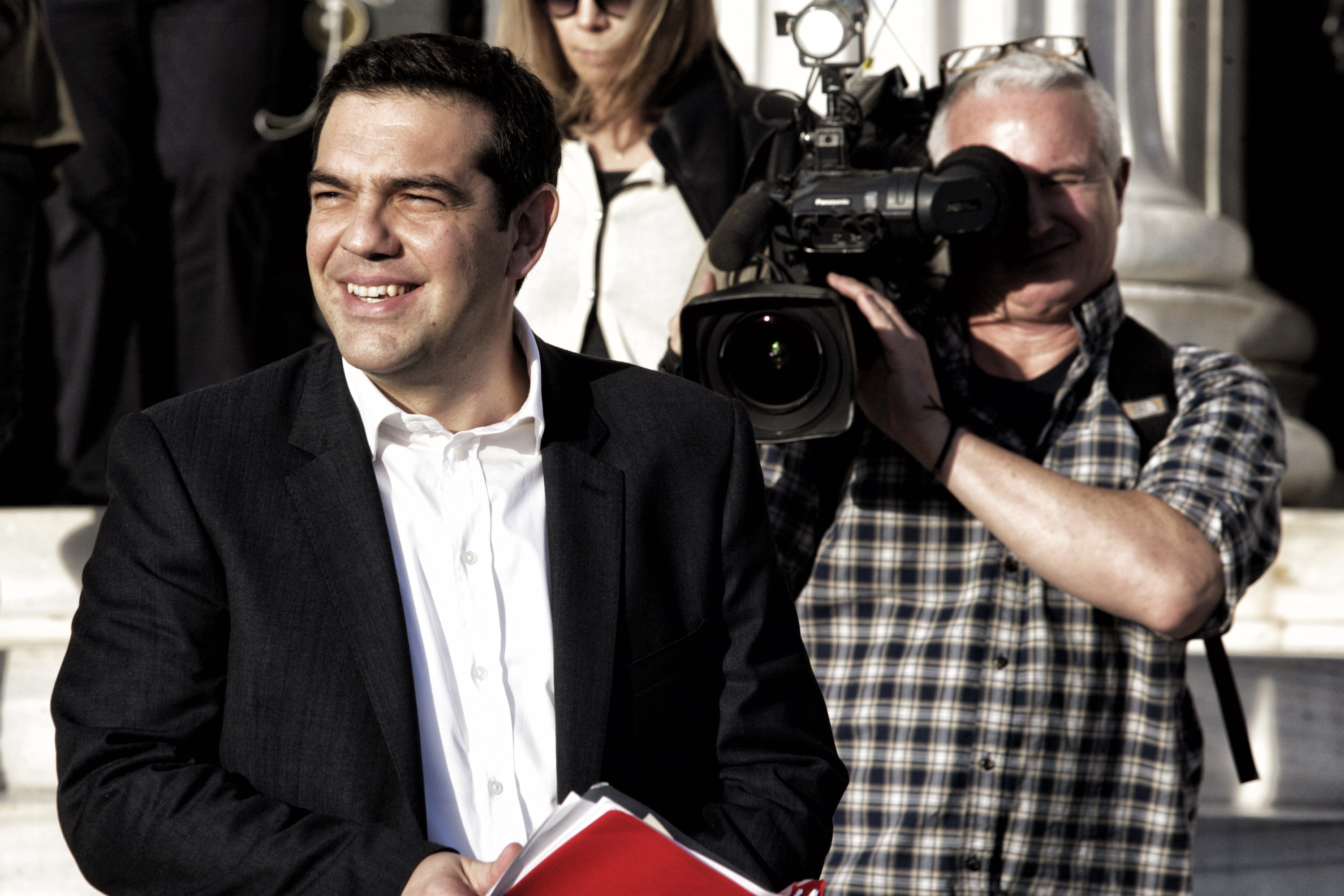 Public Meeting Of Greece's Syriza Party leader Tsipras In Athens