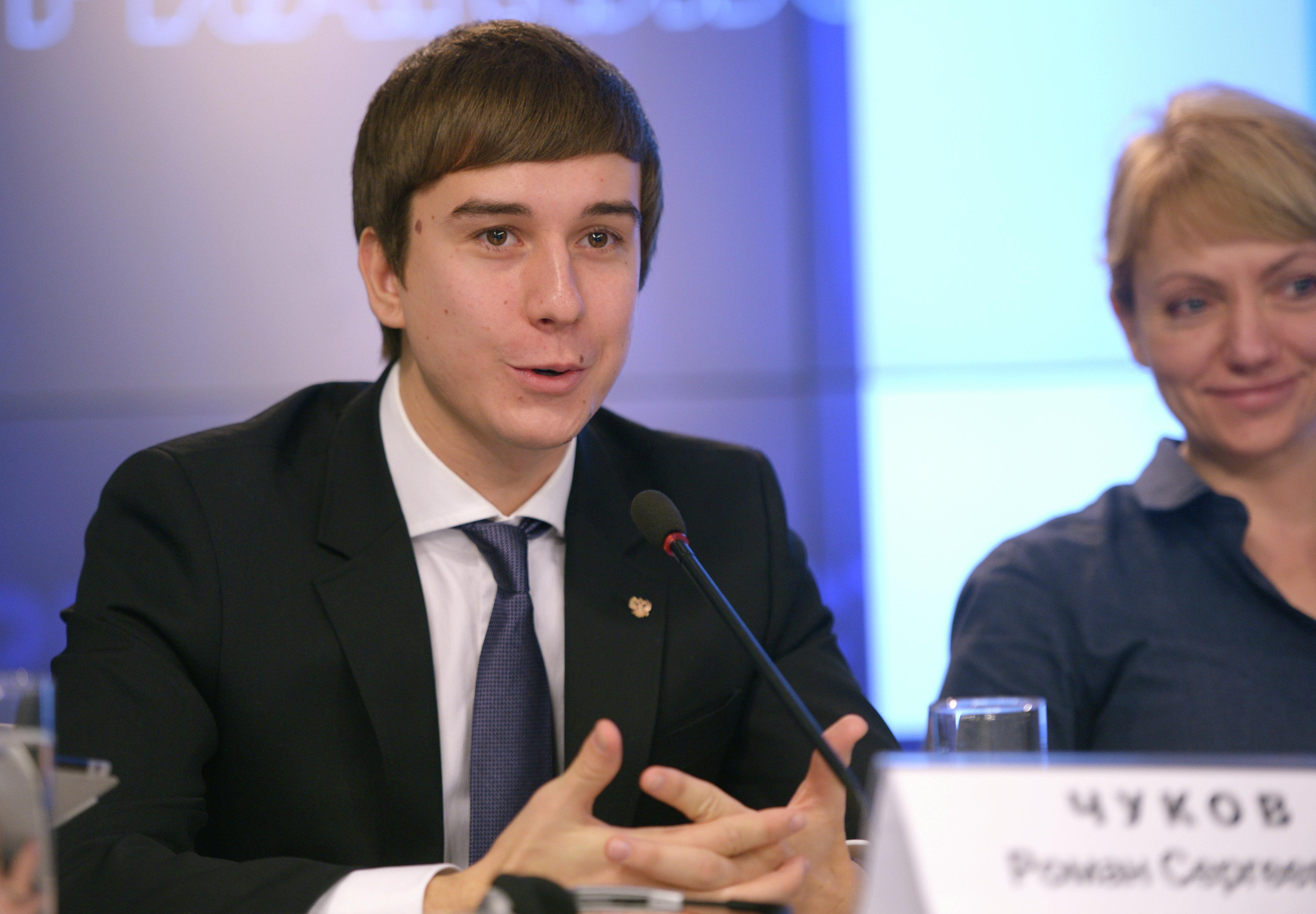 Roman Chukov - Davos' youngest participant.