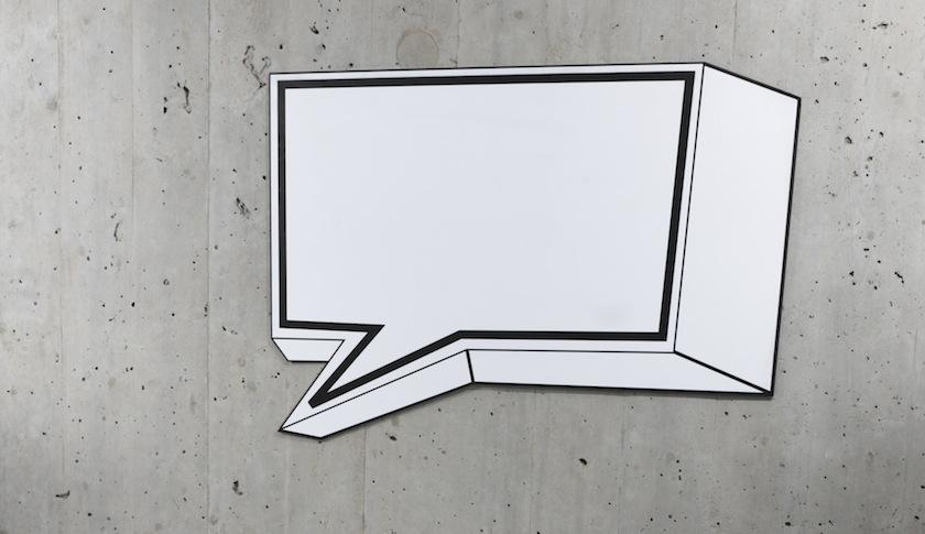 speech bubble communication