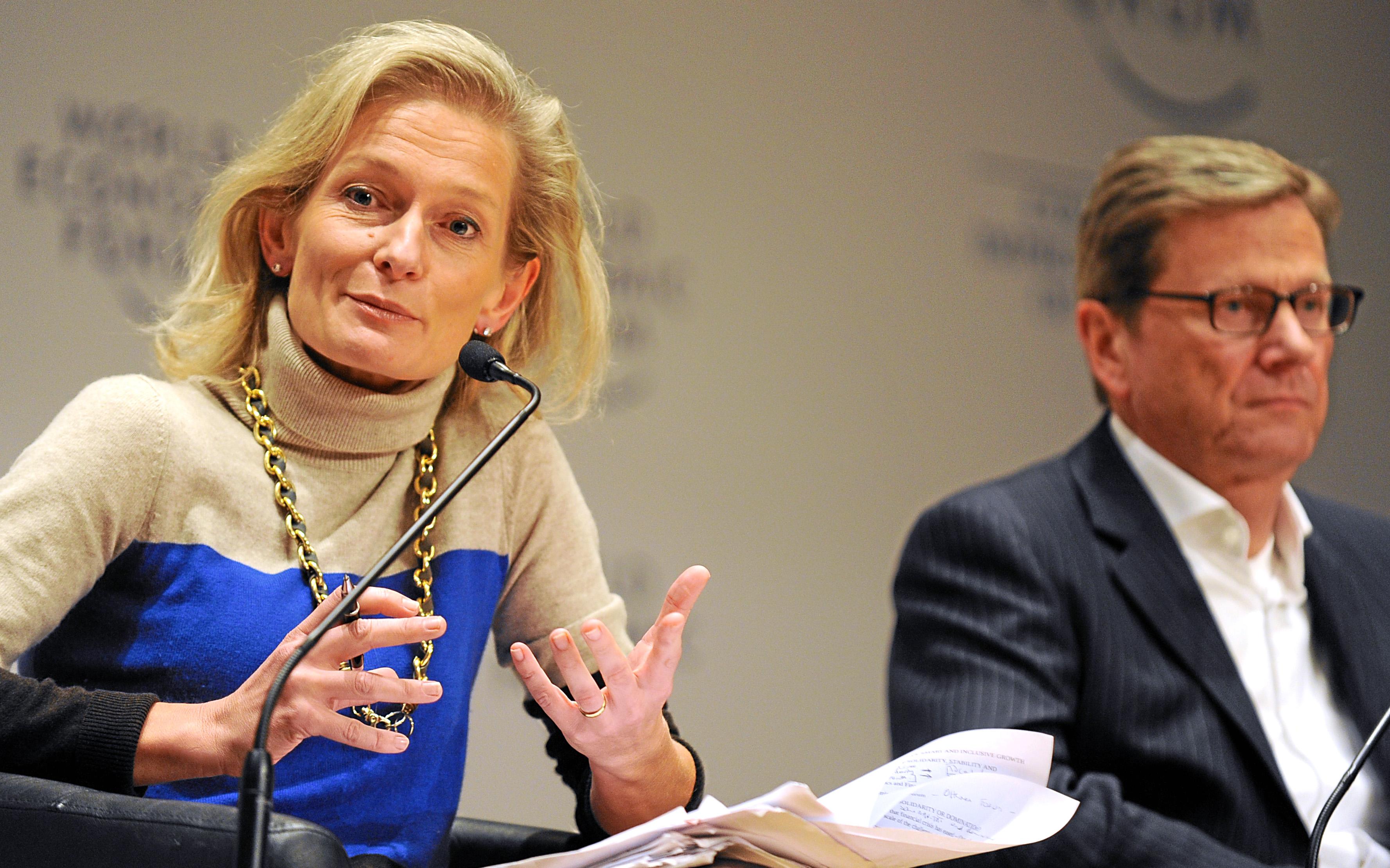 Open Forum: Eurozone - Solidarity or Domination?:  Zanny Minton Beddoes, Guido Westerwelle