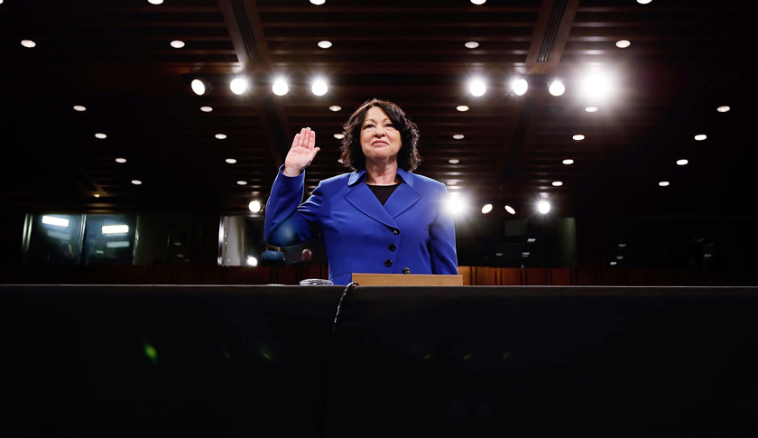 Confirmation Hearings For Supreme Court Nominee Sonia Sotomayor Begin