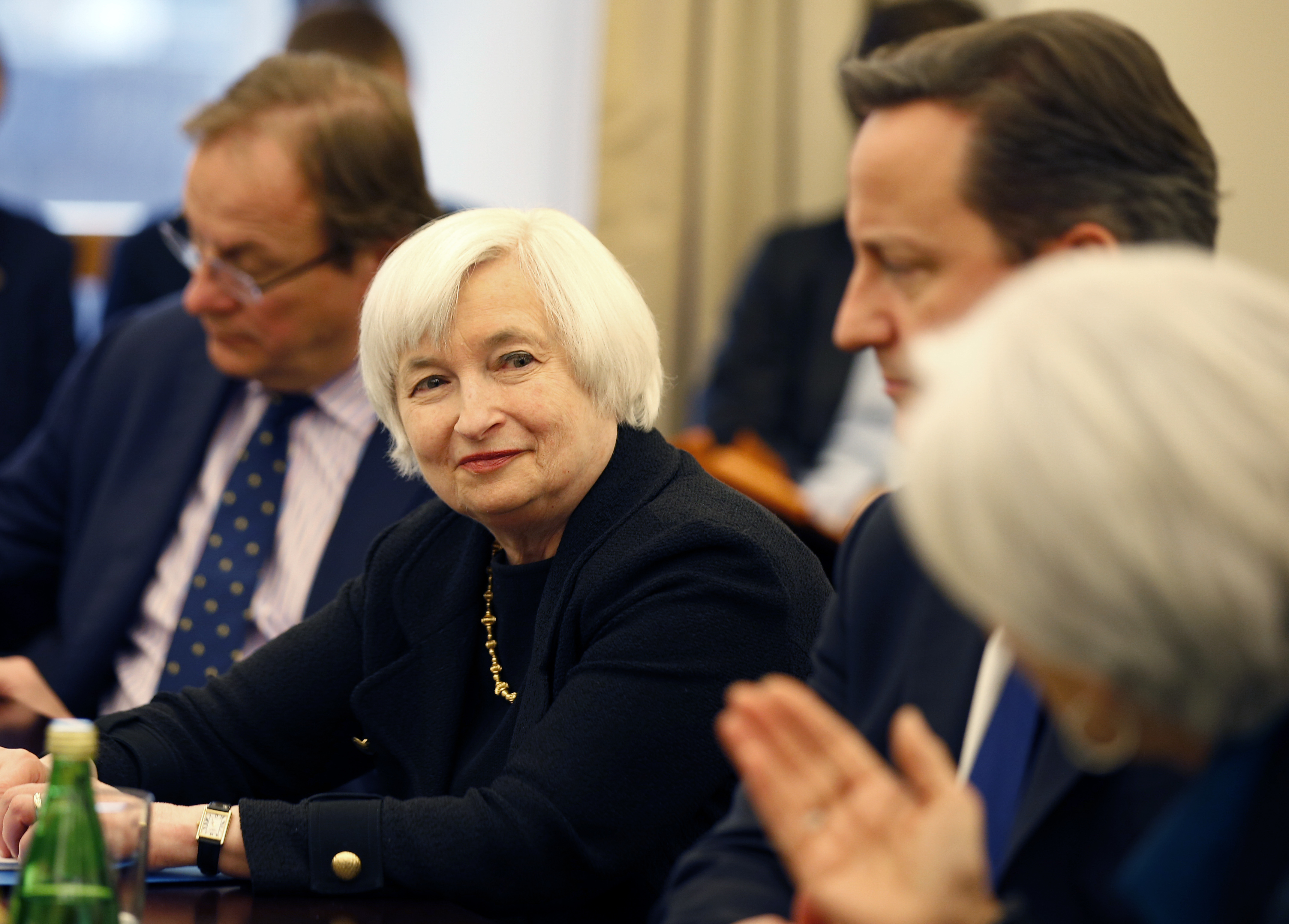 Christine Lagarde, David Cameron, Janet Yellen