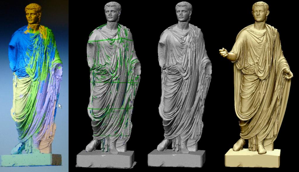 Direct Dimensions 3D scan Caligula statue