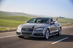 Audi's self-driving A7
