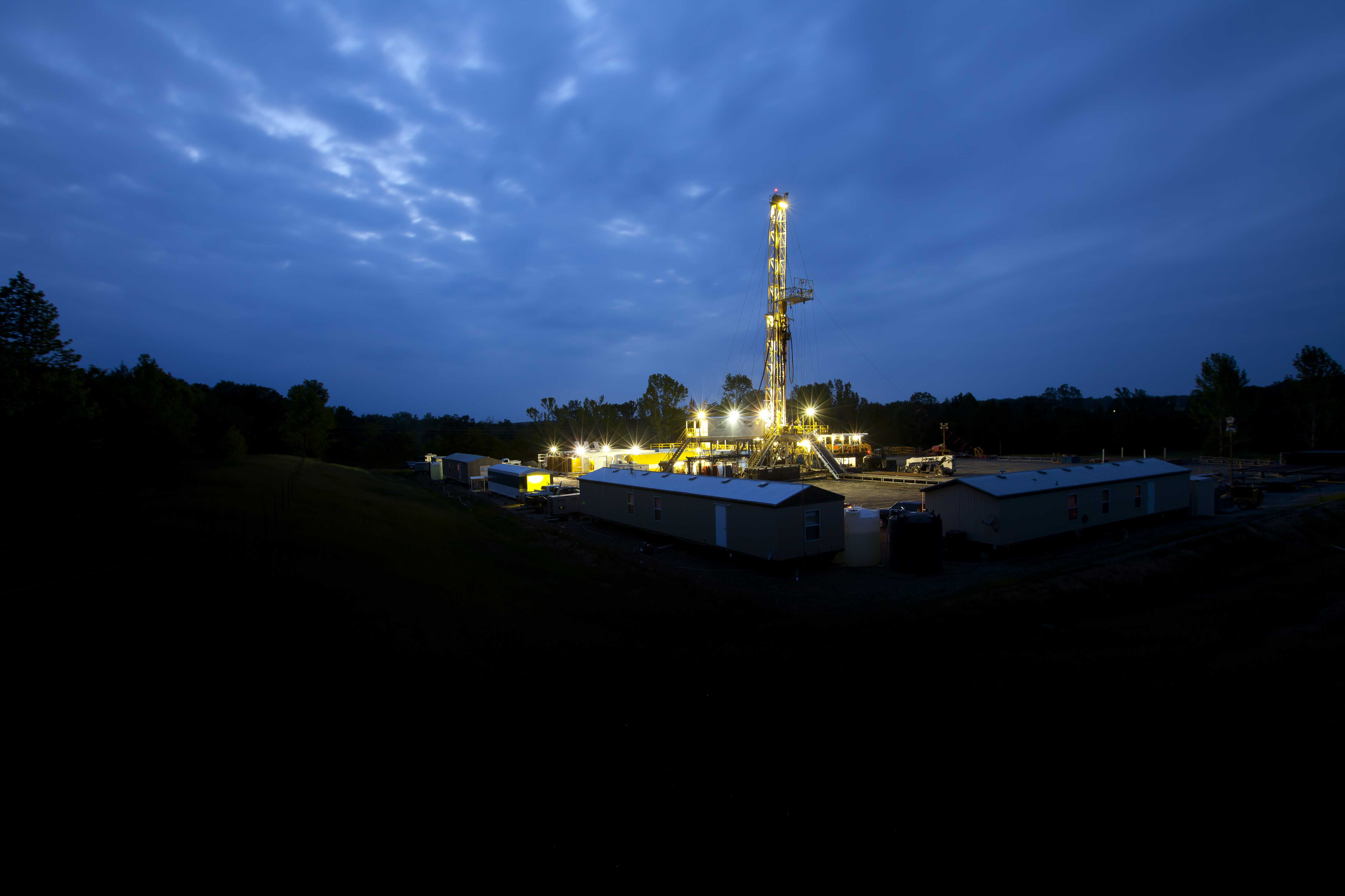 BHP is scaling back drilling at marginal operations and looking to sell some acreage, such as this site in Fayetteville.