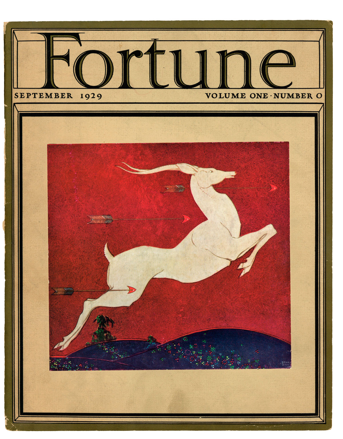 Fortune prototype issue Volume 1, Issue 0, September 1929