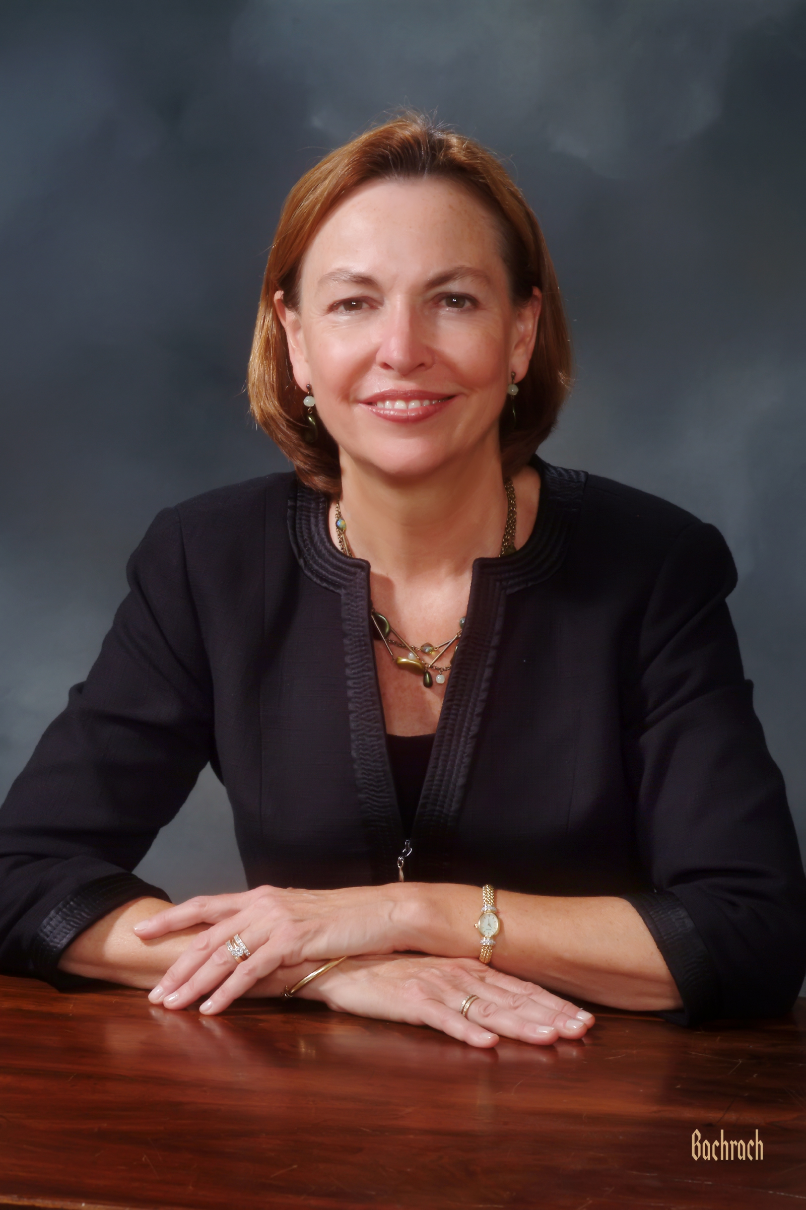 Gloria Cordes Larson, president of Bentley University