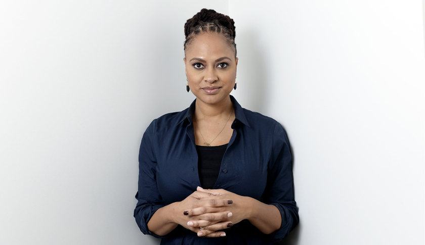 """Selma"" director DuVernay poses in Los Angeles"