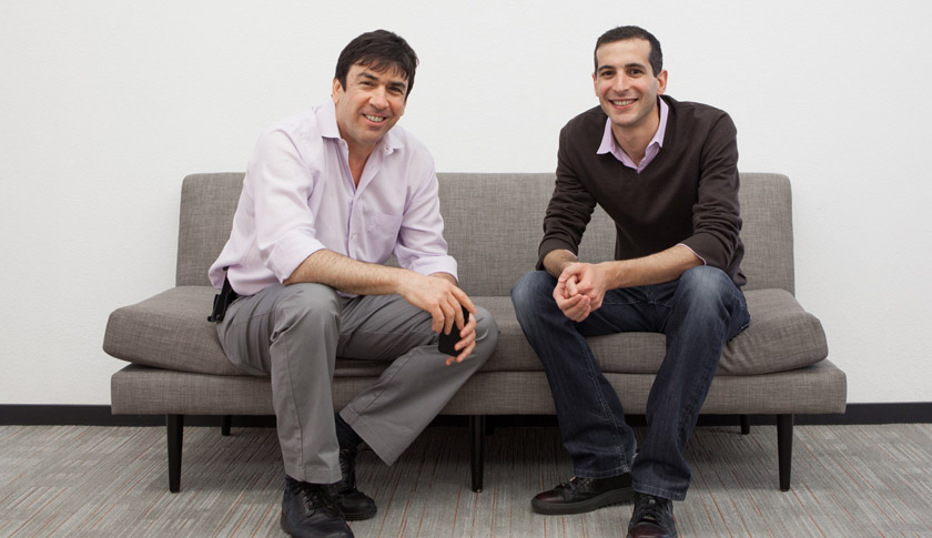 Uri Raz (left) and Eric Setton (right)