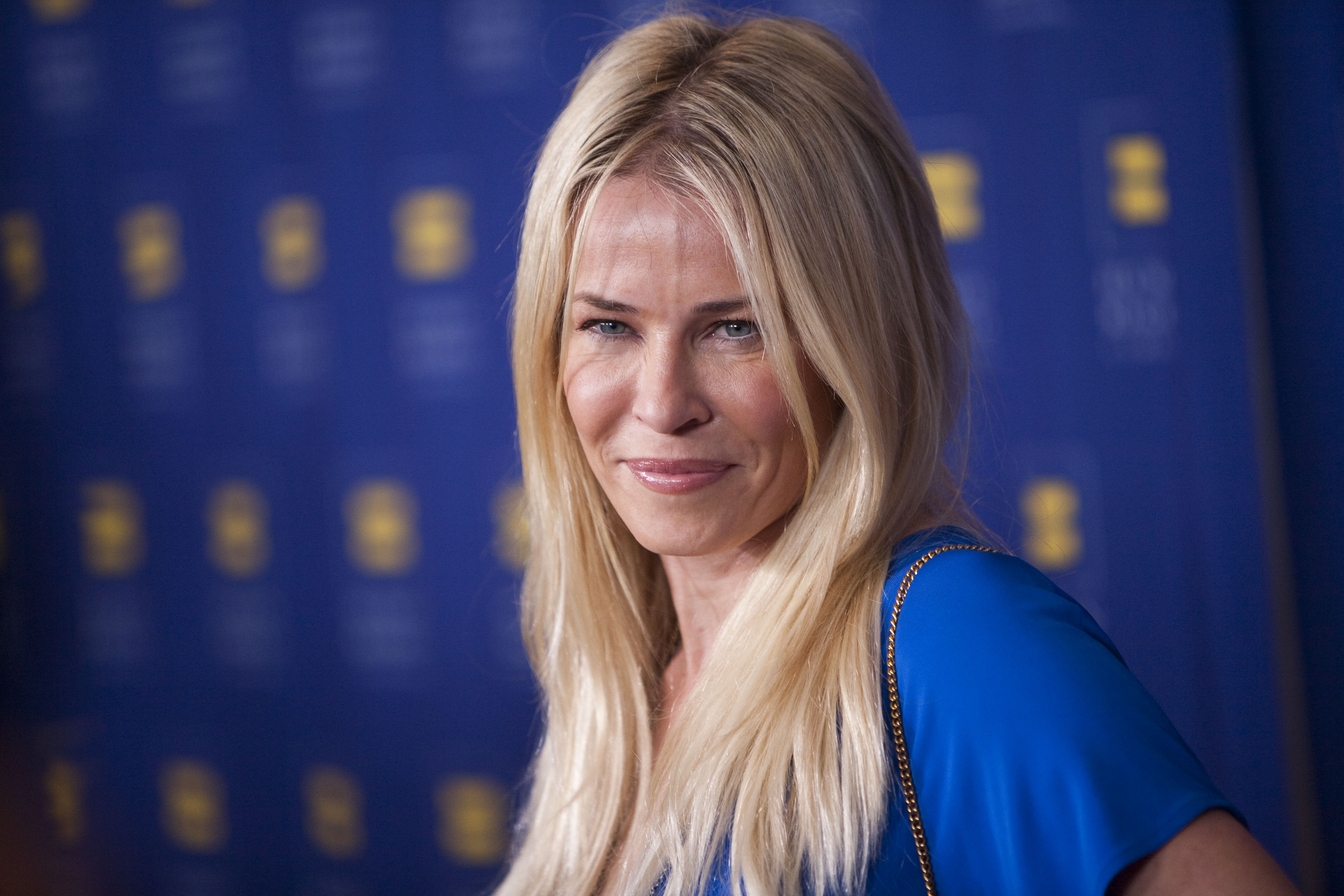 Chelsea Handler arrives to the 2012 Huma