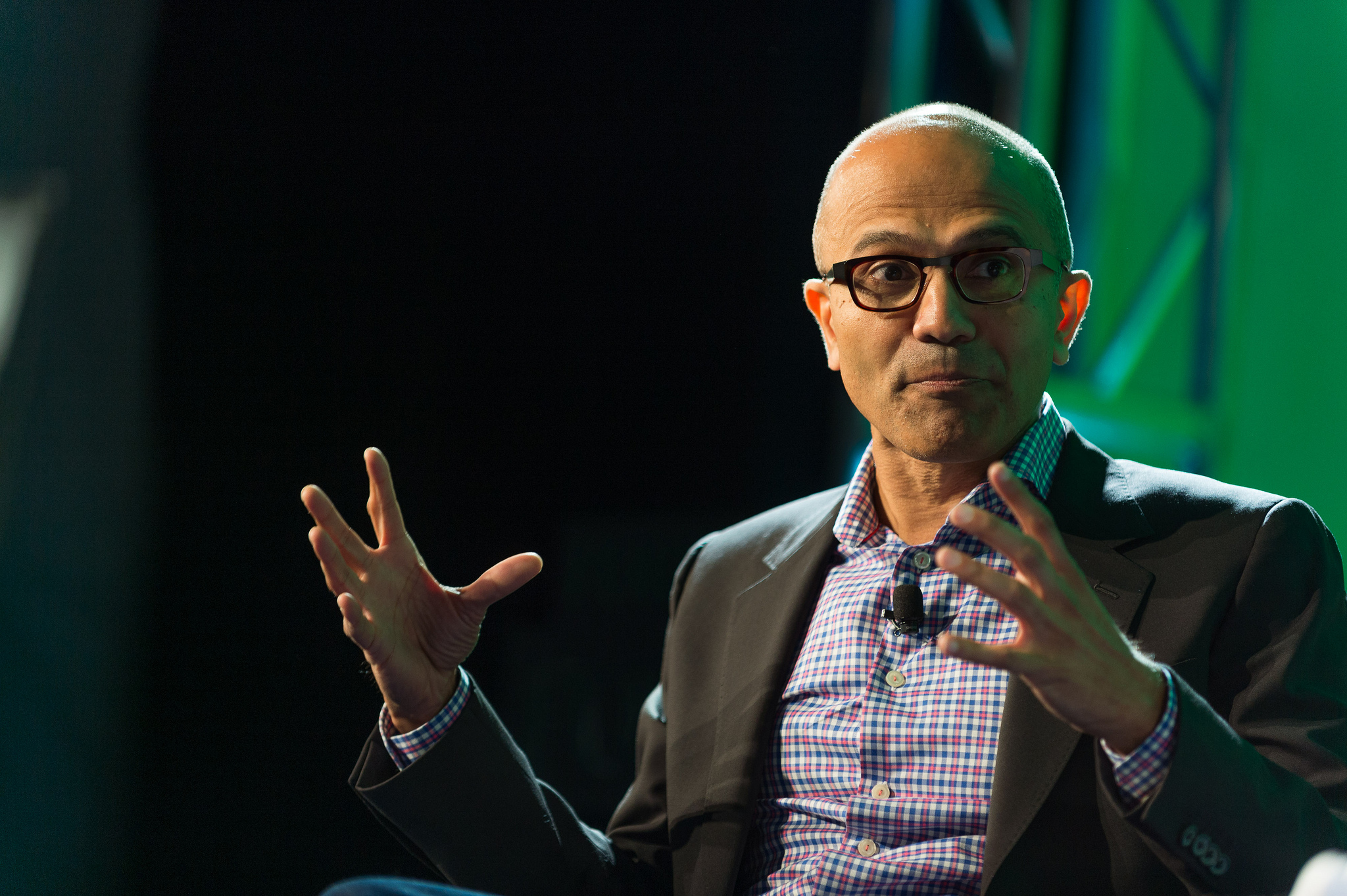Microsoft CEO Satya Nadella at Brainstorm Tech 2014