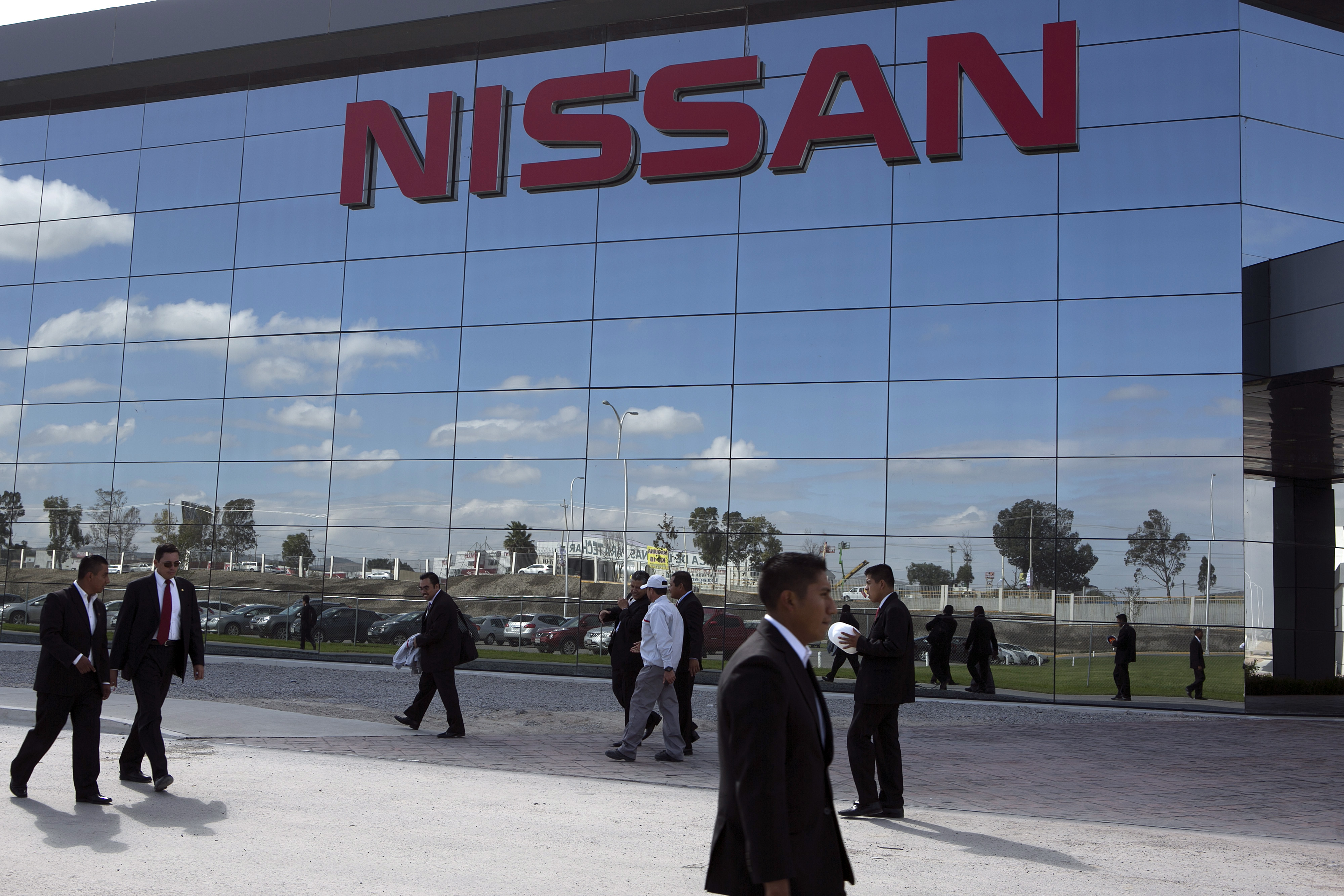 Nissan CEO Carlos Ghosn Attends Opening Of New $2 Billion Factory