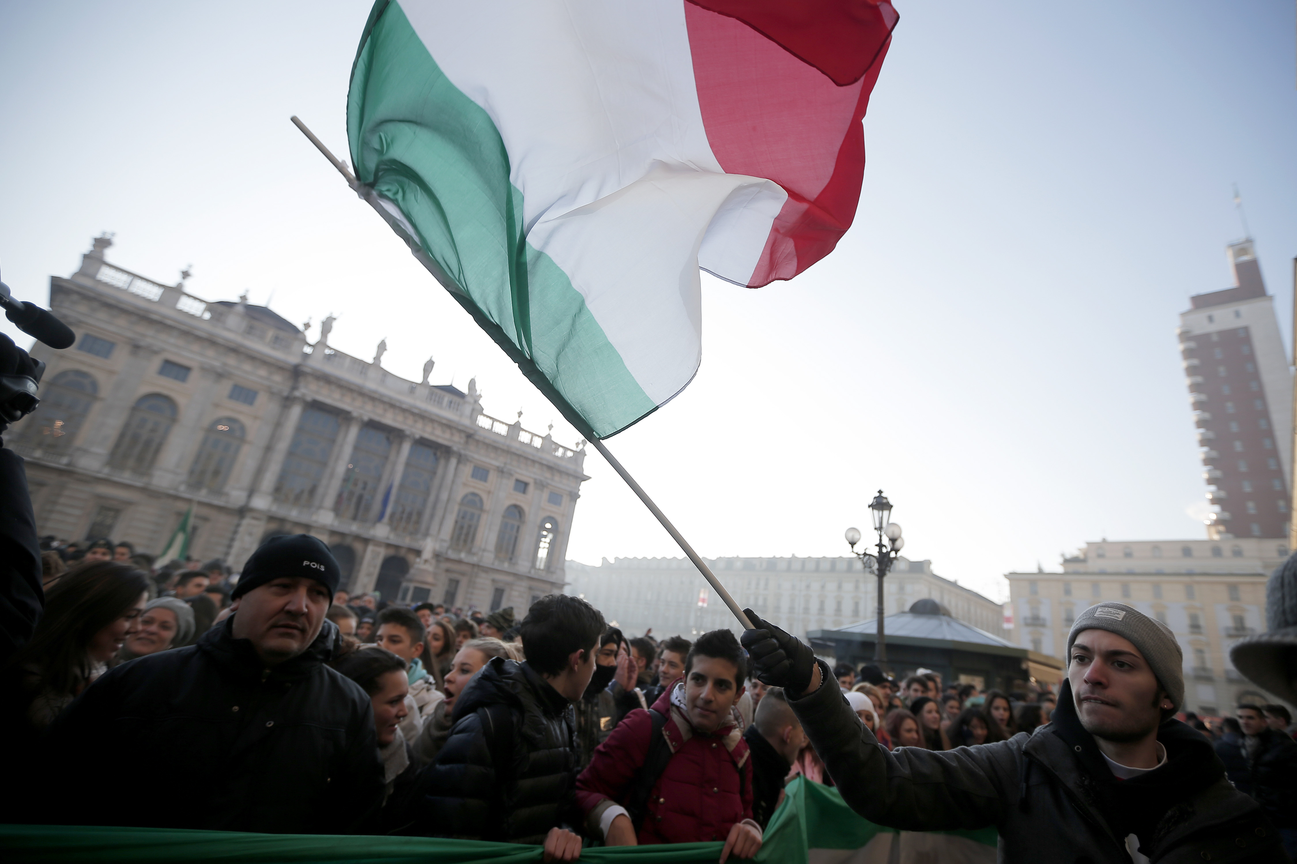 ITALY-GOVERNMENT-PROTEST-AUSTERITY