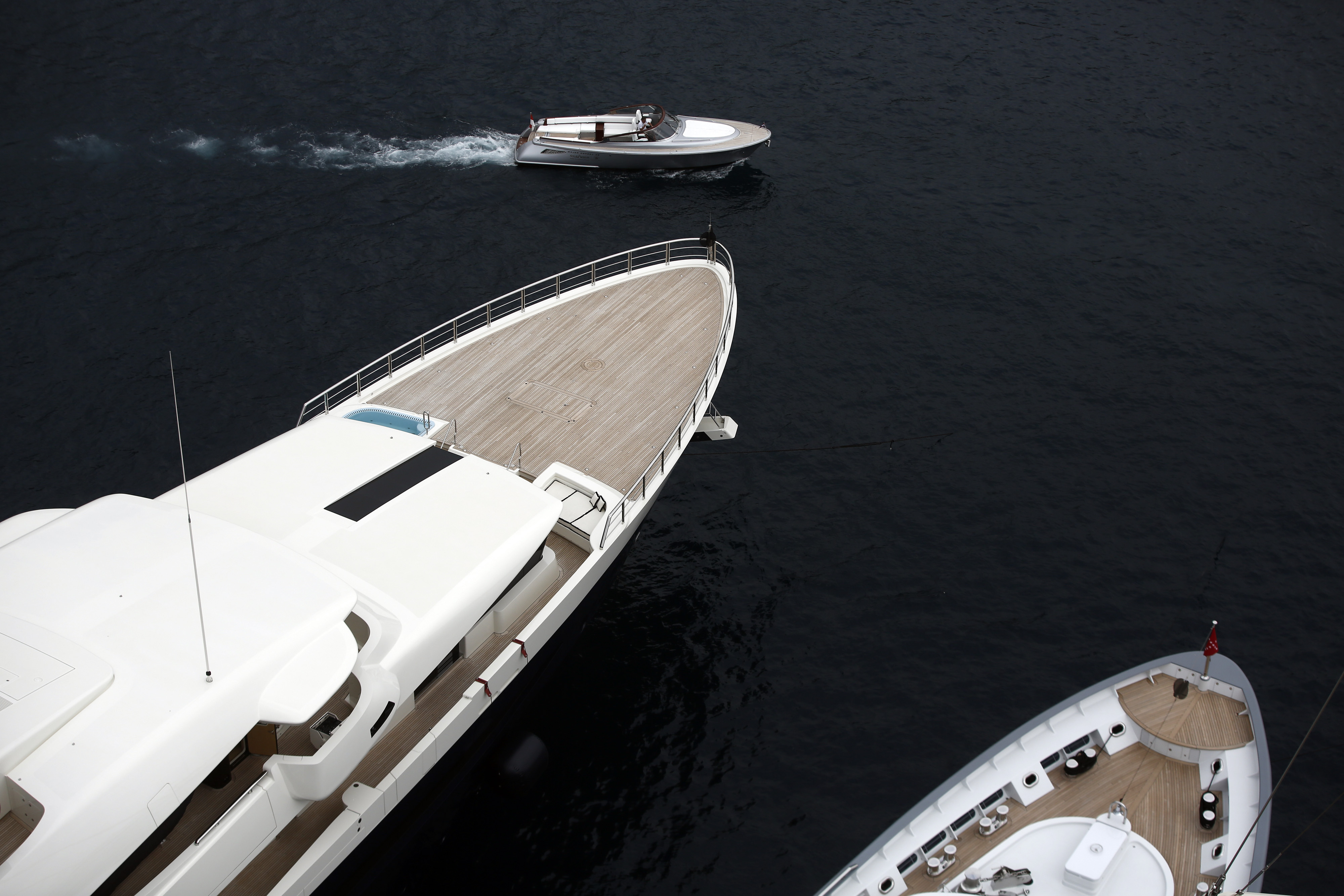 Opening Day Of The Monaco Yacht Show