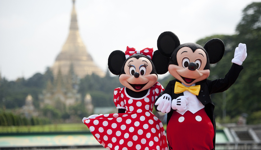 MYANMAR-US-DISNEY-ENTERTAINMENT