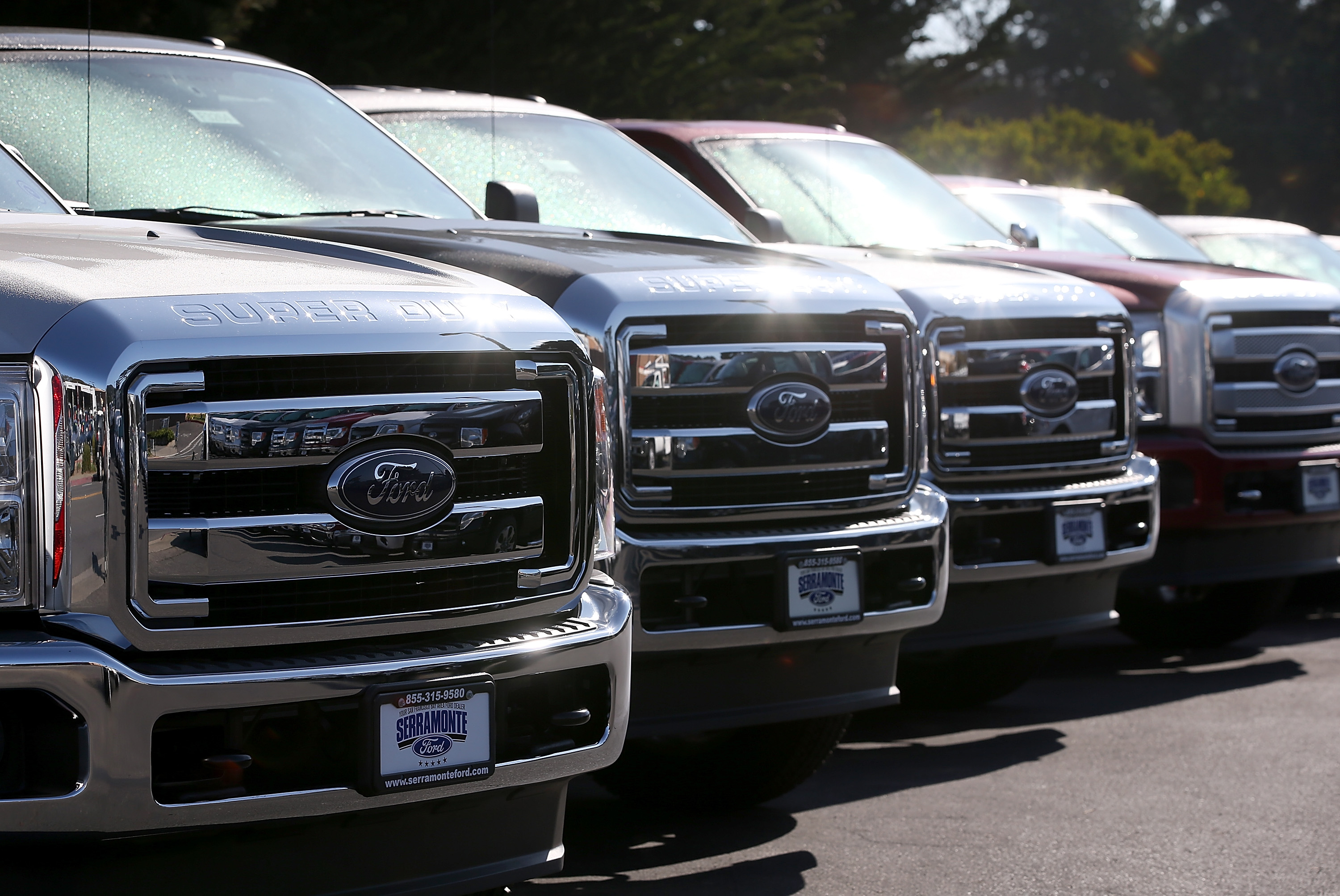Ford Reports Drop In Quarterly Profits