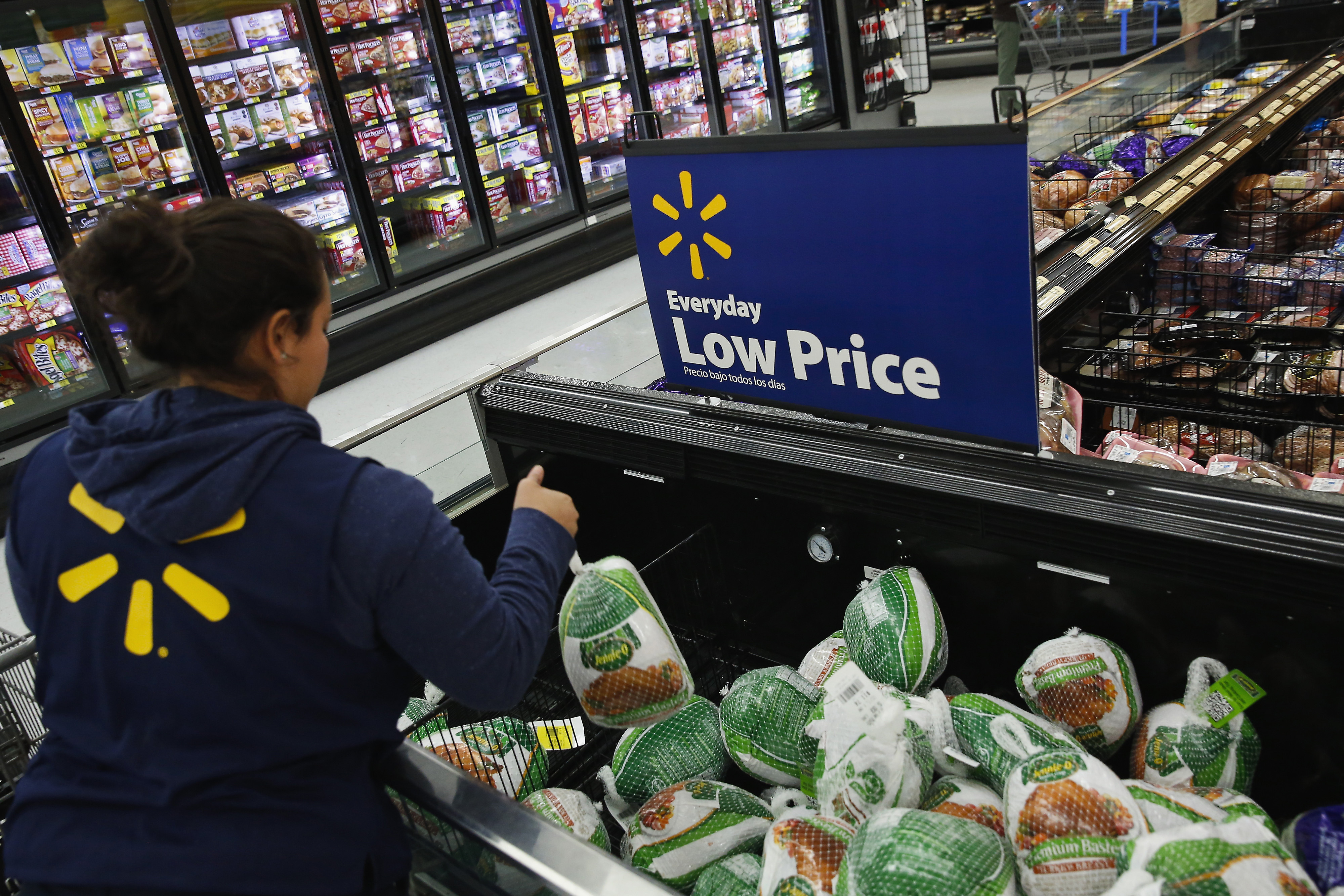 Operations Inside A Wal-Mart Stores Inc. Location Ahead Of Black Friday