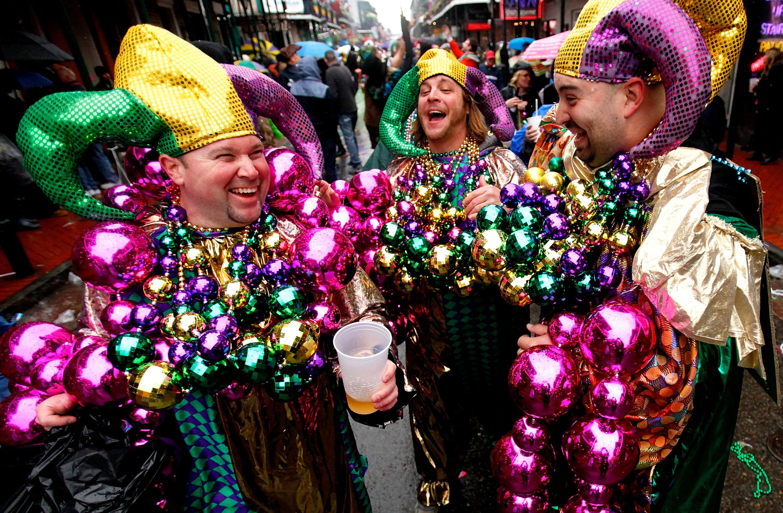 New Orleans Holds Citywide Mardi Gras Celebration