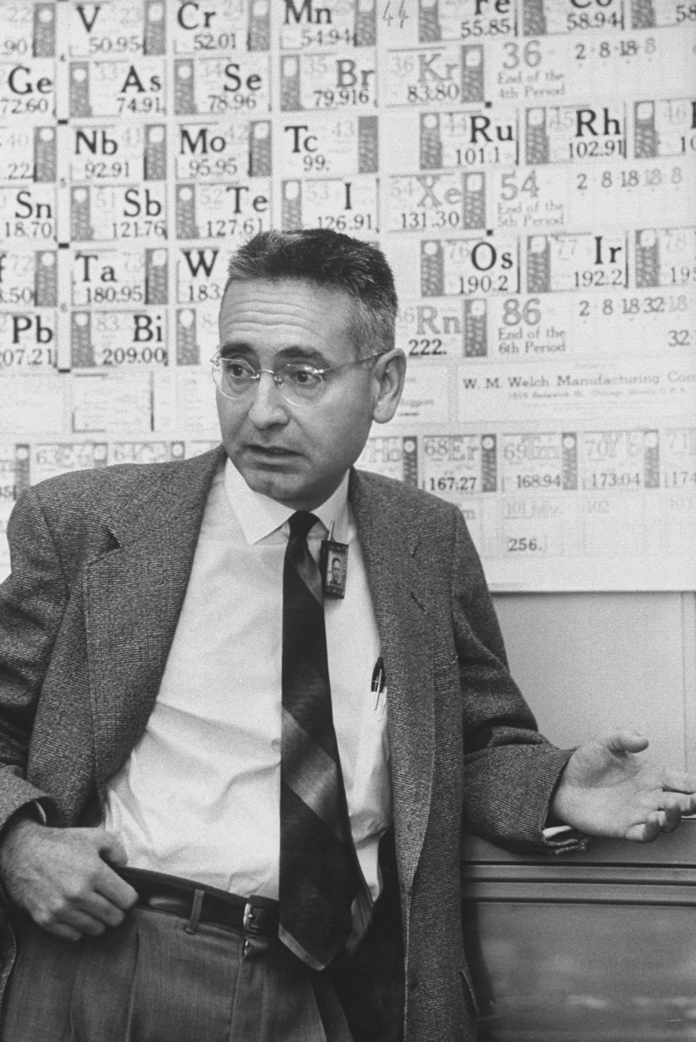 Alvin Weinberg in 1957