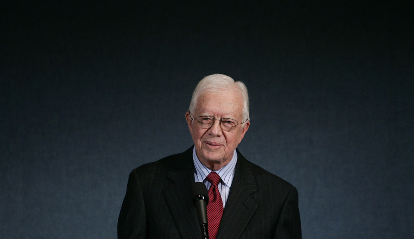 Jimmy Carter Honored With Ridenhour Prize