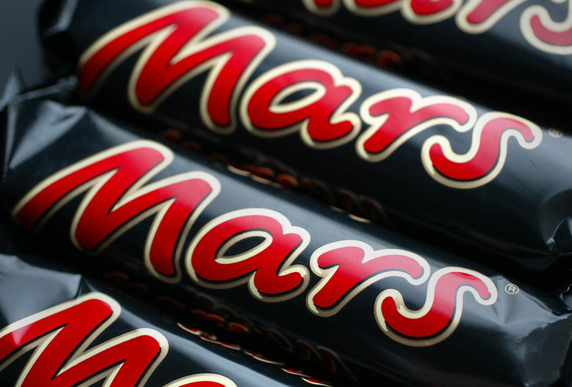 Mars Bars arranged in London,Thursday, March 10, 2005. U.S.