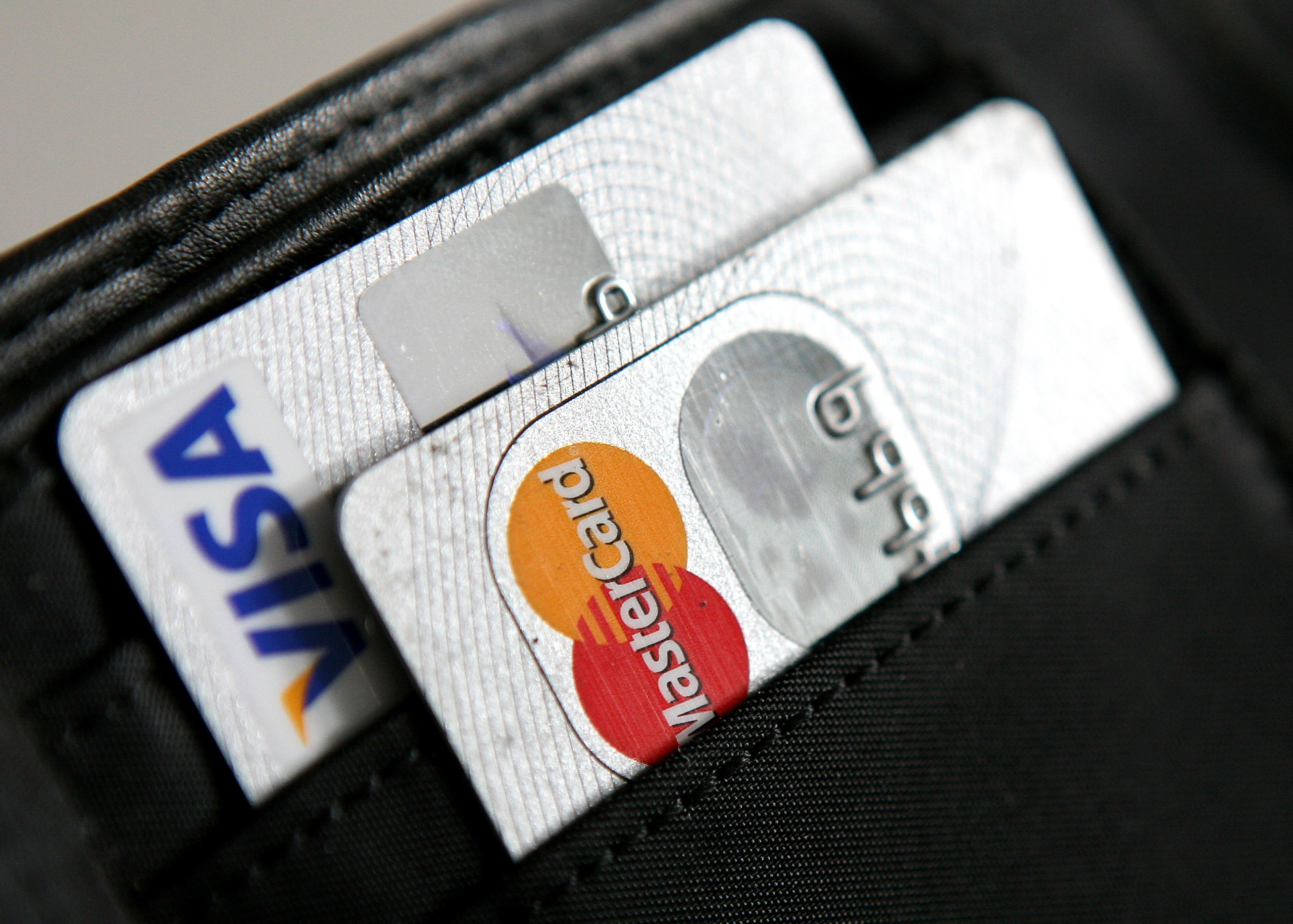 Kreditkarten von Visa und Mastercard