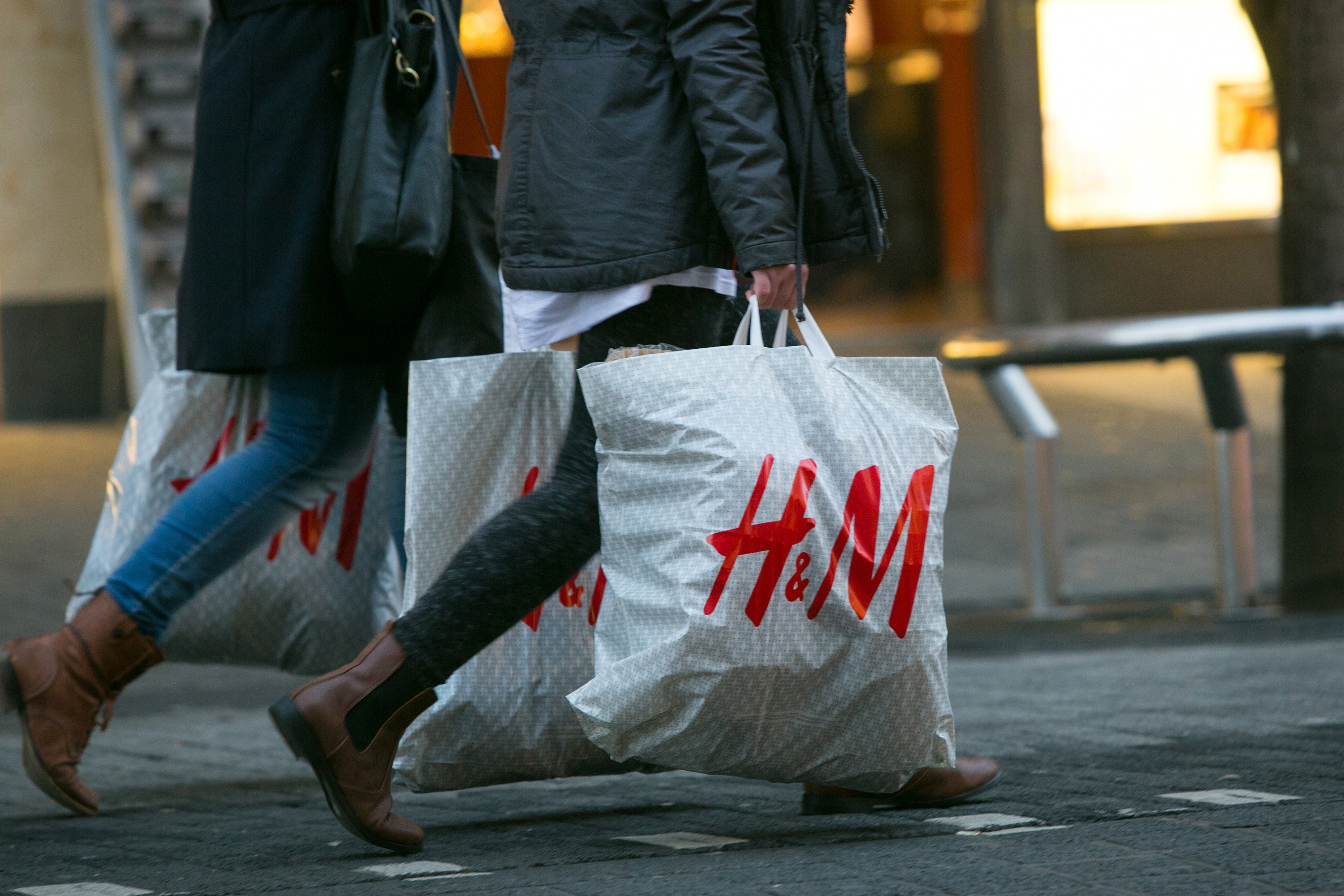 Shoppers And Retail Economy As German Investor Confidence Jumps