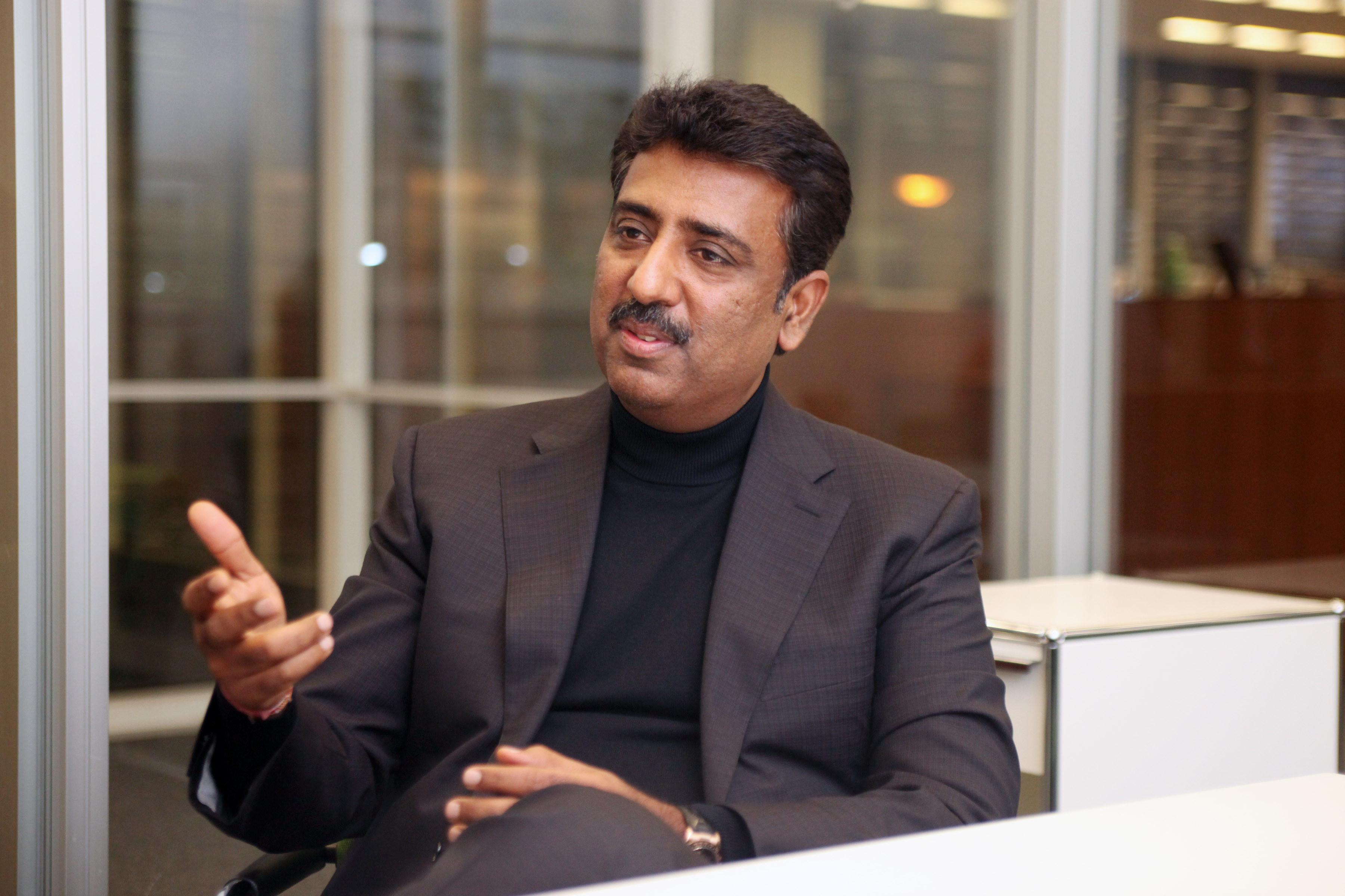 Girish Navani, CEO of eClinicalWorks