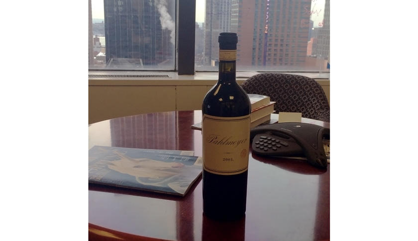 What will we be opening for OTBN? We'll uncork this beauty given to Fortune editor Alan Murray by Facebook COO Sheryl Sandberg.