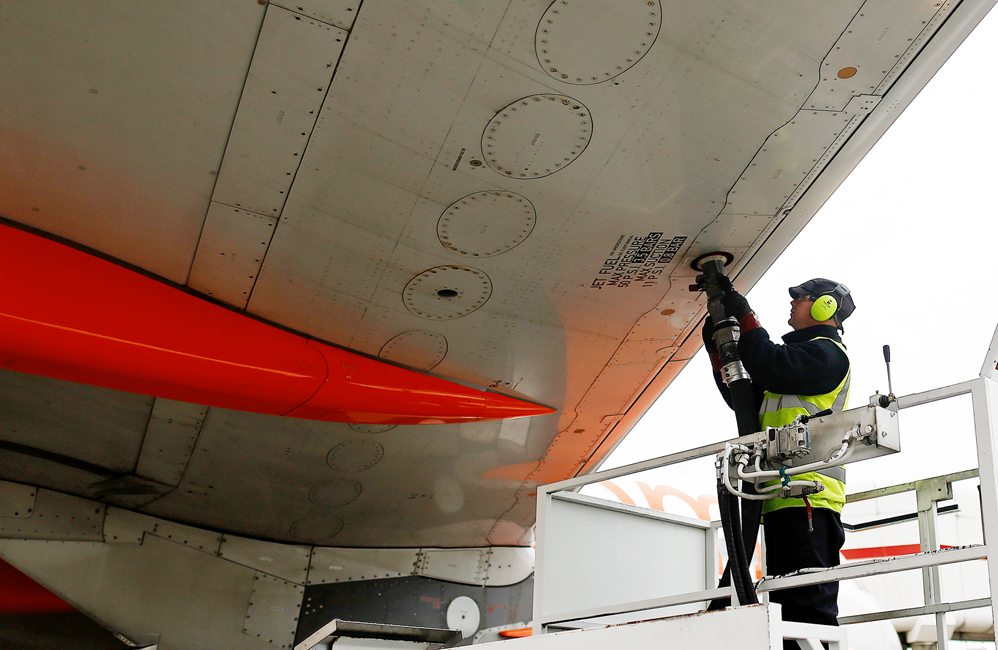 EasyJet Plc Passenger Jets At London Gatwick Airport Ahead Of Results