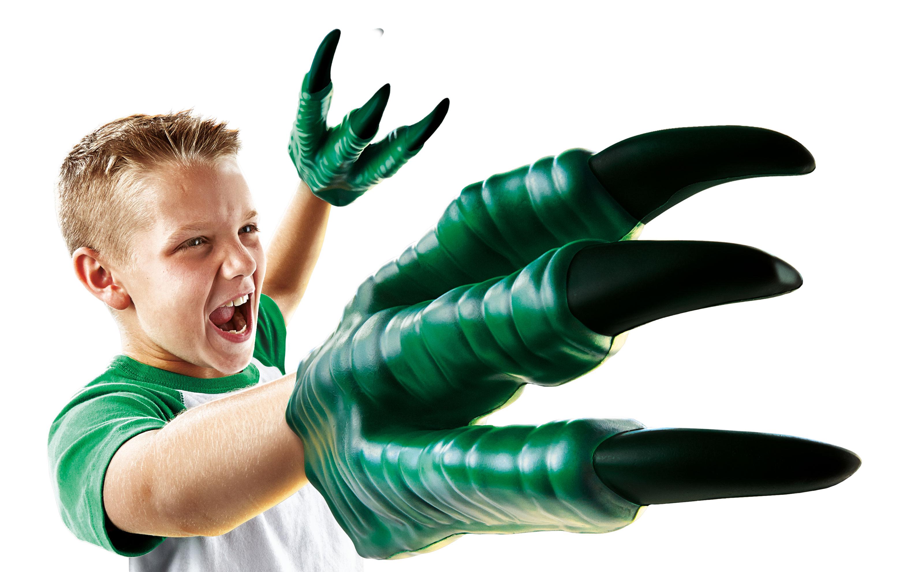 Hasbro's raptor claws.