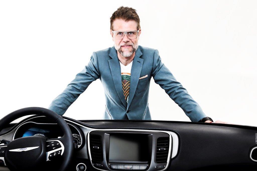 Klaus Busse, Vice President of Interior Design for FCA