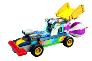 Lego's toys are idea for customization: all of its building blocks can connect within the same system.