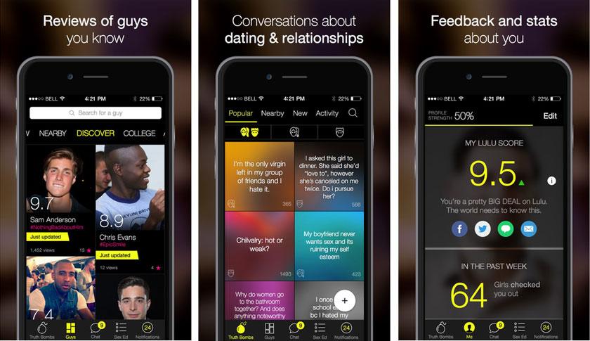lulu dating app)