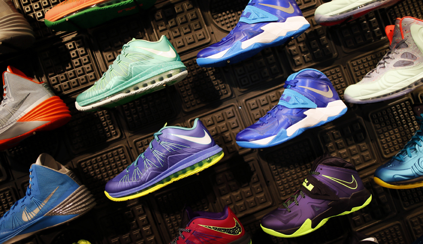 Nike and retailer Finish Line each reporter better-than-expected quarterly earnings and sales results.