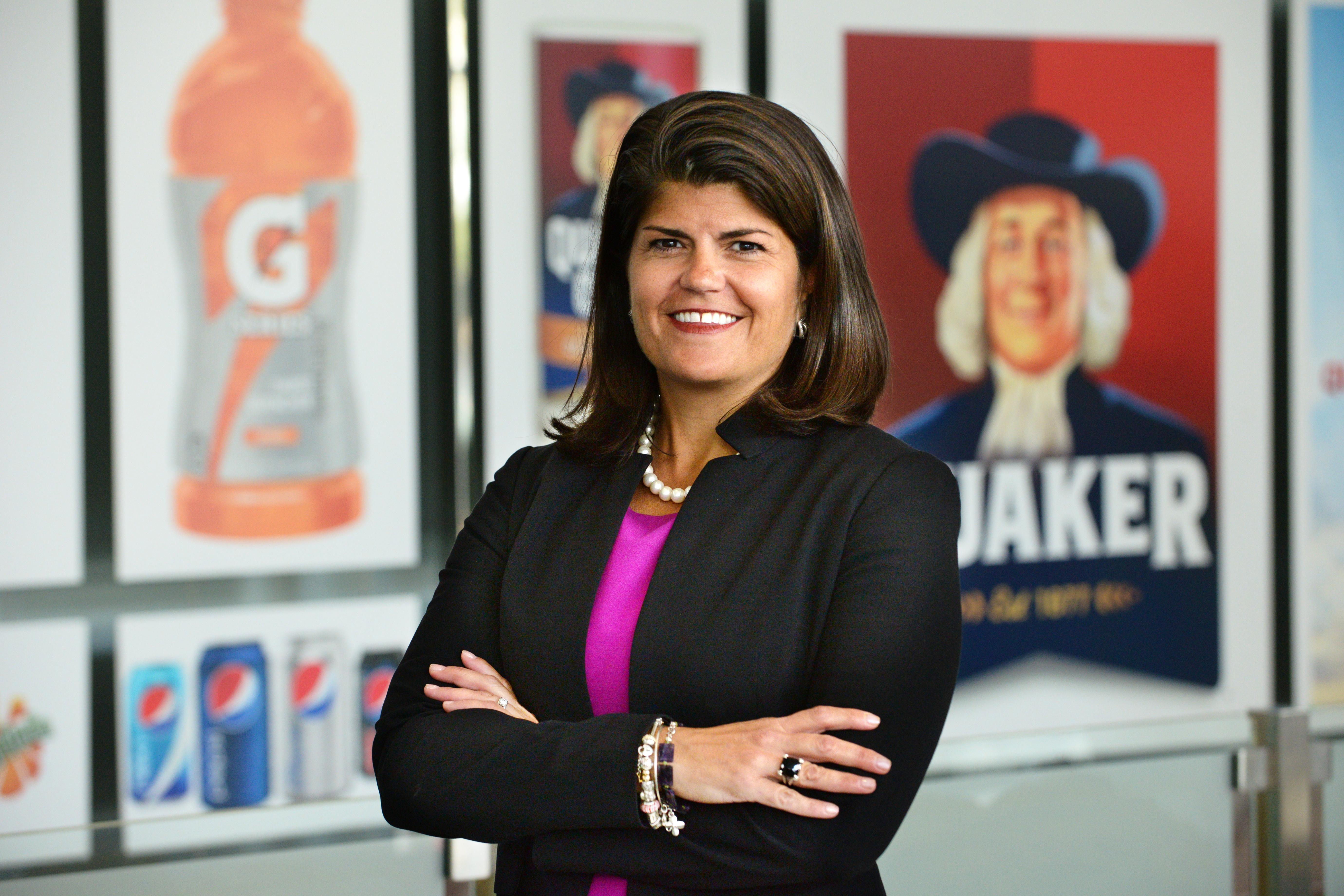 Trish Lukasik, Senior Vice President of Sales at PepsiCo