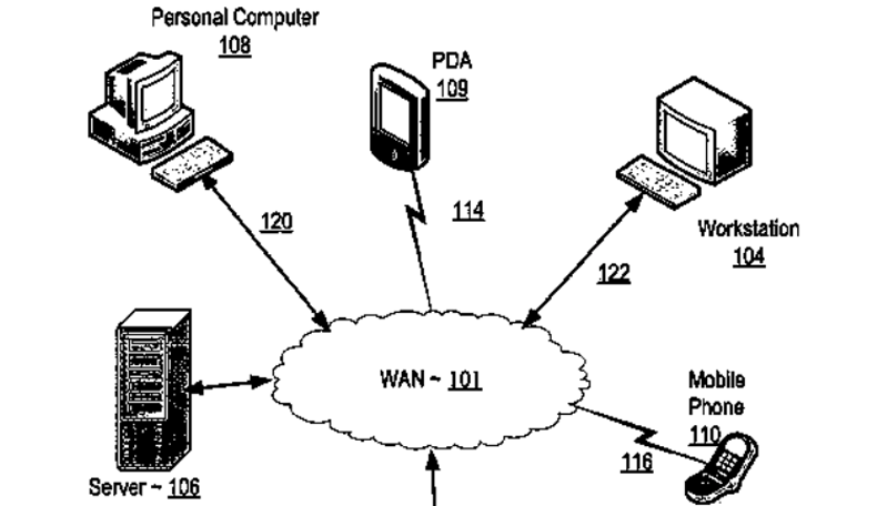 U.S. Patent 8,924,499 for IBM