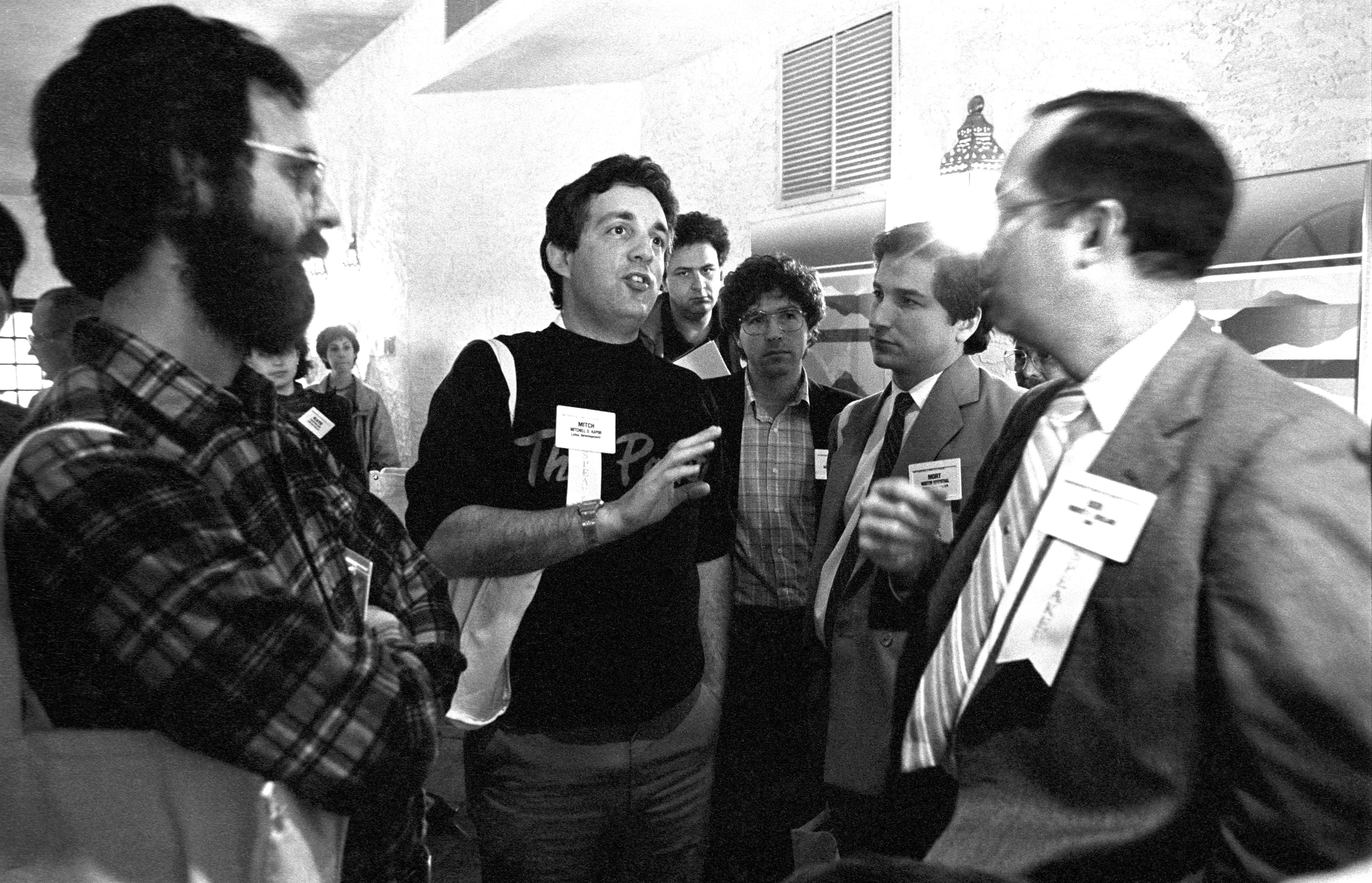 At The 1985 PC Forum