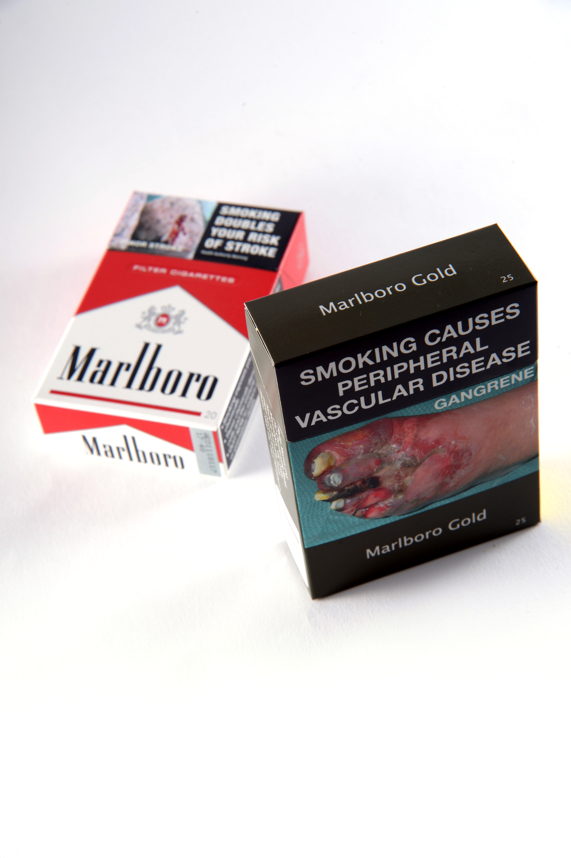 Cigarettes In Plain Packaging On Sale In Tobacco Stores