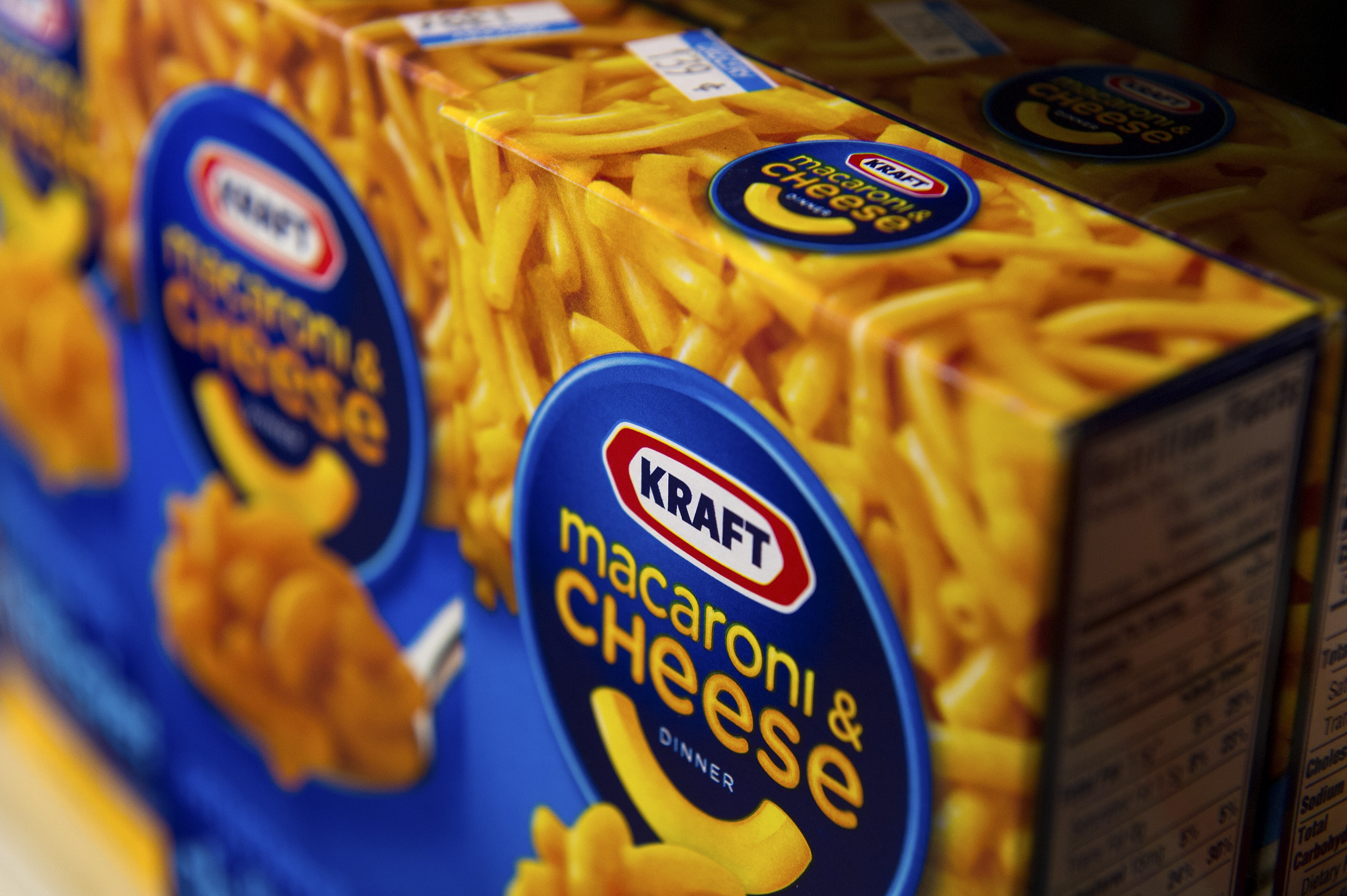 Views Of Kraft Foods Products At A Supermarket Ahead Of Earns