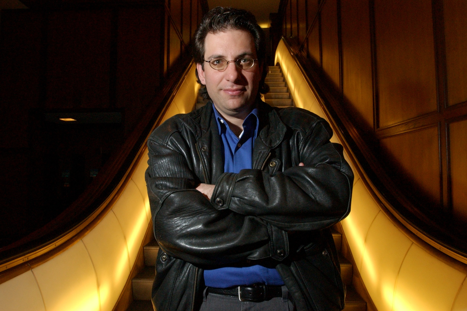 Kevin Mitnick, the worlds most notorious hacker poses for a portrait at the Brown Palace. Mitnick once worked in Denver under the alias ID Eric Weiss at the Law firm of Holme, Roberts and Owen. (Craig F. Walker / The Denver Post)