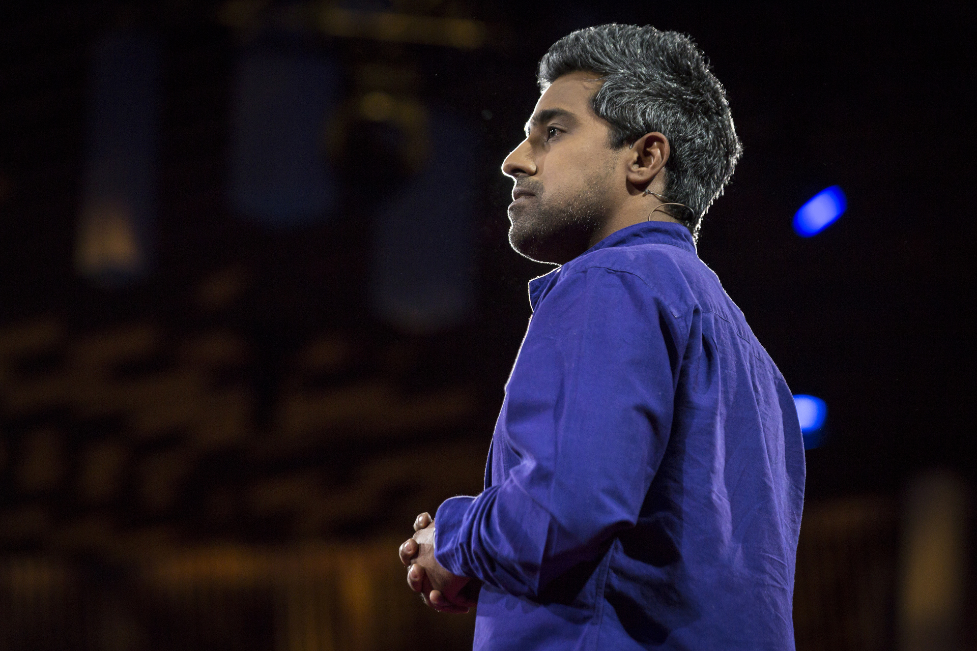 Anand Giridharadas speaks at TED 2015