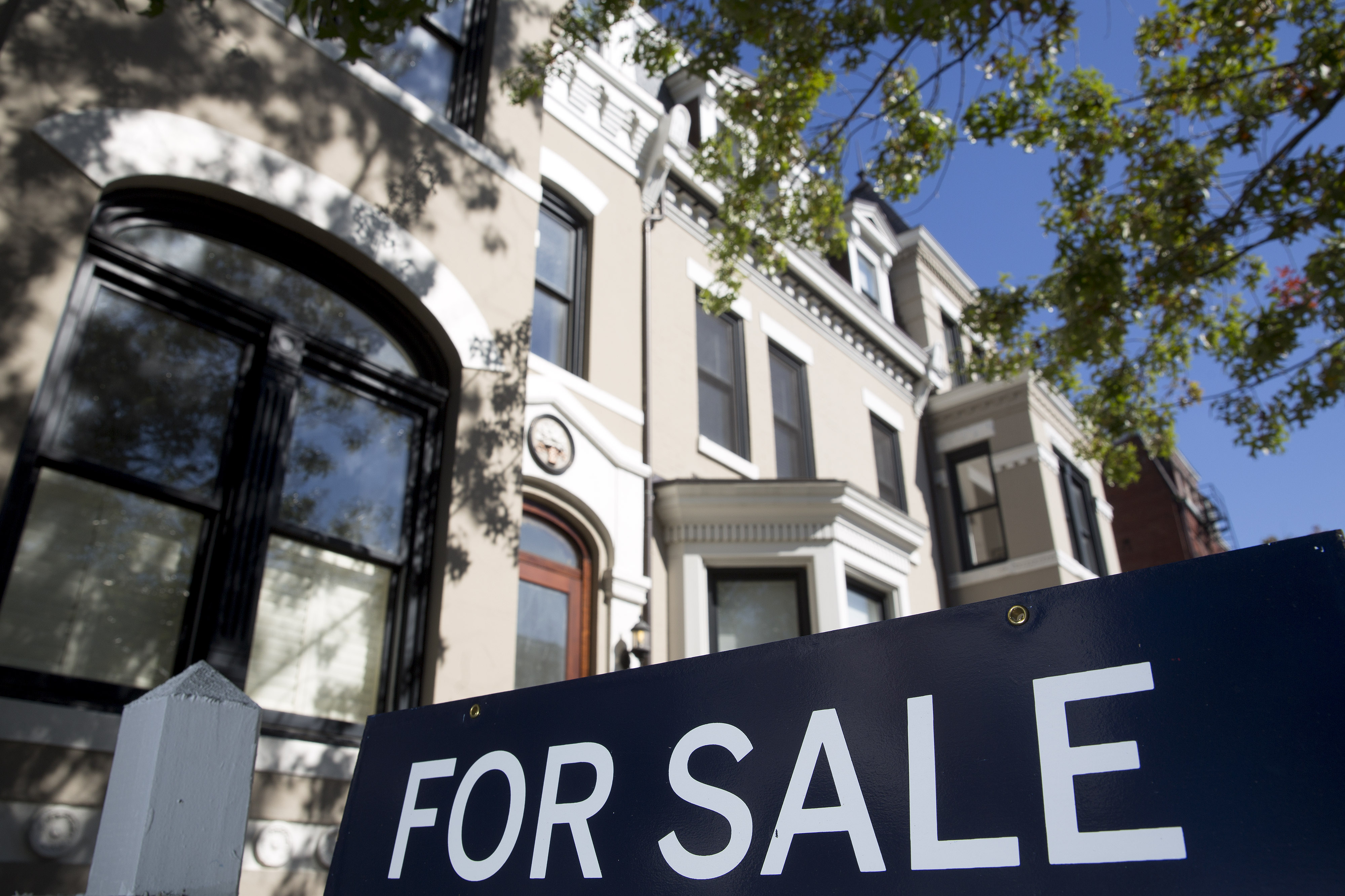 Houses For Sale Ahead Of Existing Homes Sales Figures Release